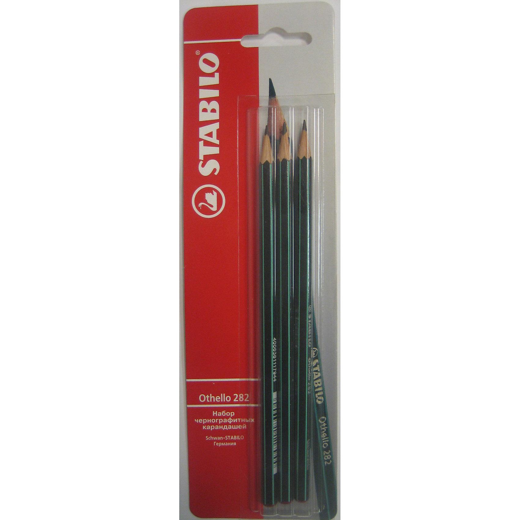 STABILO OTHELLO Карандаши чернографитные, 3штОсобо прочный и экономичный карандаш самого высокого качества. Легко и аккуратно затачивается. Грифель (HB) из высококачественного мелкодисперсного графита благодаря особой технологии обработки даже при падении и ударе не ломается.  Многослойное  лаковое   покрытие обеспечивает идеальный внешний вид карандаша на протяжении всего срока  службы.<br><br>Ширина мм: 295<br>Глубина мм: 245<br>Высота мм: 160<br>Вес г: 40<br>Возраст от месяцев: 84<br>Возраст до месяцев: 216<br>Пол: Унисекс<br>Возраст: Детский<br>SKU: 3157351