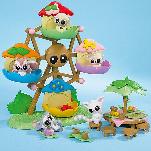 Каруселька, Юху и его друзьяИнтерактивные игрушки<br>Добро пожаловать в невероятный мир YooHoo &amp; Friends (Юху и его Друзья), созданный компанией Aurora (Аврора). Играйте с персонажами мультфильма YooHoo &amp; Friends (Юху и его Друзья)! Разноцветная каруселька для игрушечных фигурок Юху и его друзей. В карусельке могут поместиться четыре игрушки Yoohoo. Карусельку можно крутить за ручки. В комплект с каруселью входят игрушечная фигурка лемура Юху и столик для пикника с пятью маленькими табуретками и дополнительными аксессуарами. Теперь Юху и его друзья могут сначала повеселиться на карусели, а потом присесть и пообедать за чудесным круглым столом. <br><br>Дополнительная информация:<br><br>- изготовлена из материала высокого качества;<br>- зверек Юху - герои любимого мультика;<br>- размер упаковки: 26х17х27 см;<br>- вес: 0,49 кг;<br>- в комплекте 1 фигурка и каруселька, столик, стульчики, аксессуары для обеда.<br><br>В наборе есть все необходимое для отличного отдыха YooHoo &amp; Friends (Юху и его Друзей).<br><br>Карусельку с фигуркой YooHoo &amp; Friends (Юху и его Друзья), Вы можете купить в нашем интернет-магазине.<br>Ширина мм: 264; Глубина мм: 279; Высота мм: 129; Вес г: 476; Возраст от месяцев: 36; Возраст до месяцев: 72; Пол: Женский; Возраст: Детский; SKU: 3159704;