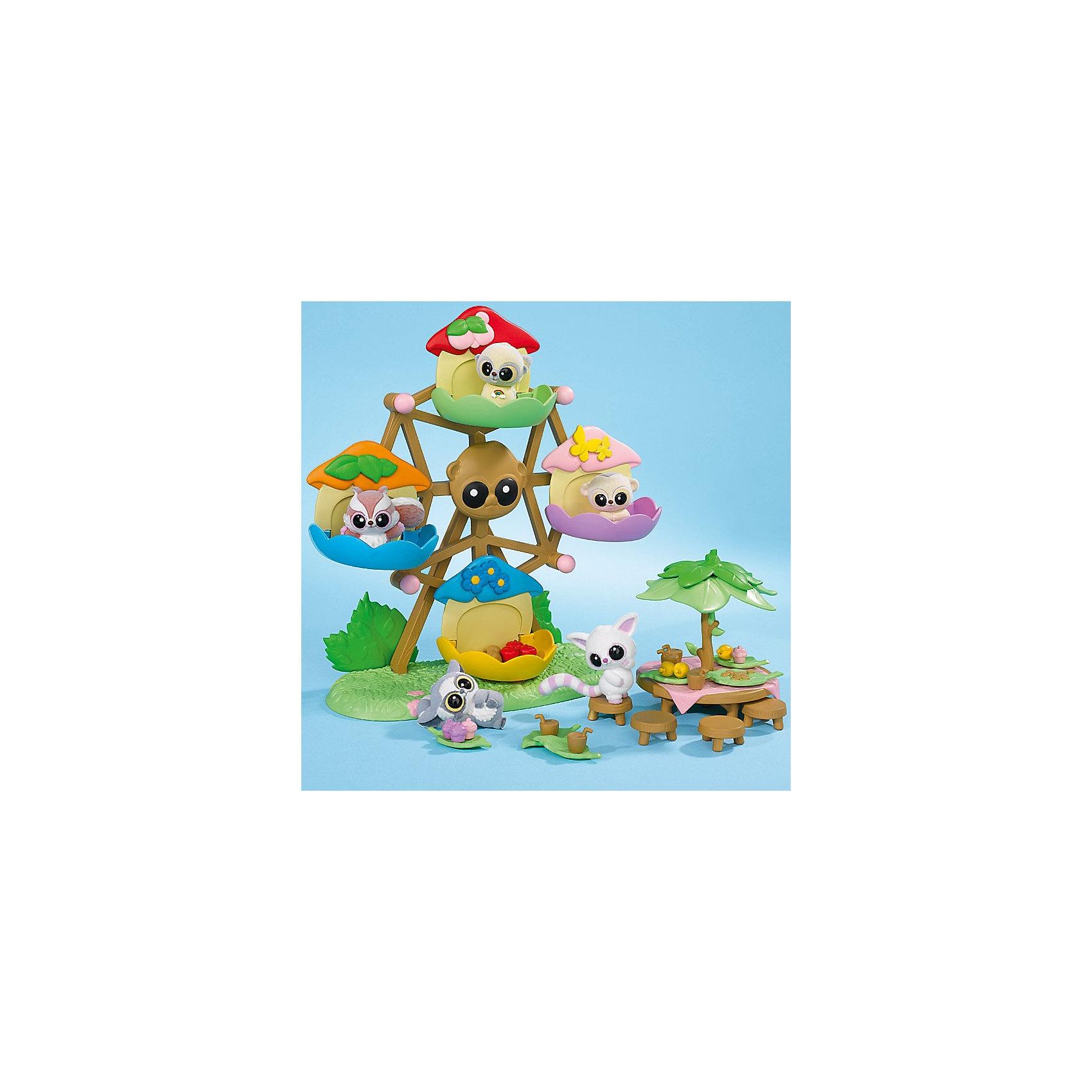 Каруселька, Юху и его друзьяЮху и его друзья<br>Добро пожаловать в невероятный мир YooHoo &amp; Friends (Юху и его Друзья), созданный компанией Aurora (Аврора). Играйте с персонажами мультфильма YooHoo &amp; Friends (Юху и его Друзья)! Разноцветная каруселька для игрушечных фигурок Юху и его друзей. В карусельке могут поместиться четыре игрушки Yoohoo. Карусельку можно крутить за ручки. В комплект с каруселью входят игрушечная фигурка лемура Юху и столик для пикника с пятью маленькими табуретками и дополнительными аксессуарами. Теперь Юху и его друзья могут сначала повеселиться на карусели, а потом присесть и пообедать за чудесным круглым столом. <br><br>Дополнительная информация:<br><br>- изготовлена из материала высокого качества;<br>- зверек Юху - герои любимого мультика;<br>- размер упаковки: 26х17х27 см;<br>- вес: 0,49 кг;<br>- в комплекте 1 фигурка и каруселька, столик, стульчики, аксессуары для обеда.<br><br>В наборе есть все необходимое для отличного отдыха YooHoo &amp; Friends (Юху и его Друзей).<br><br>Карусельку с фигуркой YooHoo &amp; Friends (Юху и его Друзья), Вы можете купить в нашем интернет-магазине.<br><br>Ширина мм: 264<br>Глубина мм: 279<br>Высота мм: 129<br>Вес г: 476<br>Возраст от месяцев: 36<br>Возраст до месяцев: 72<br>Пол: Женский<br>Возраст: Детский<br>SKU: 3159704