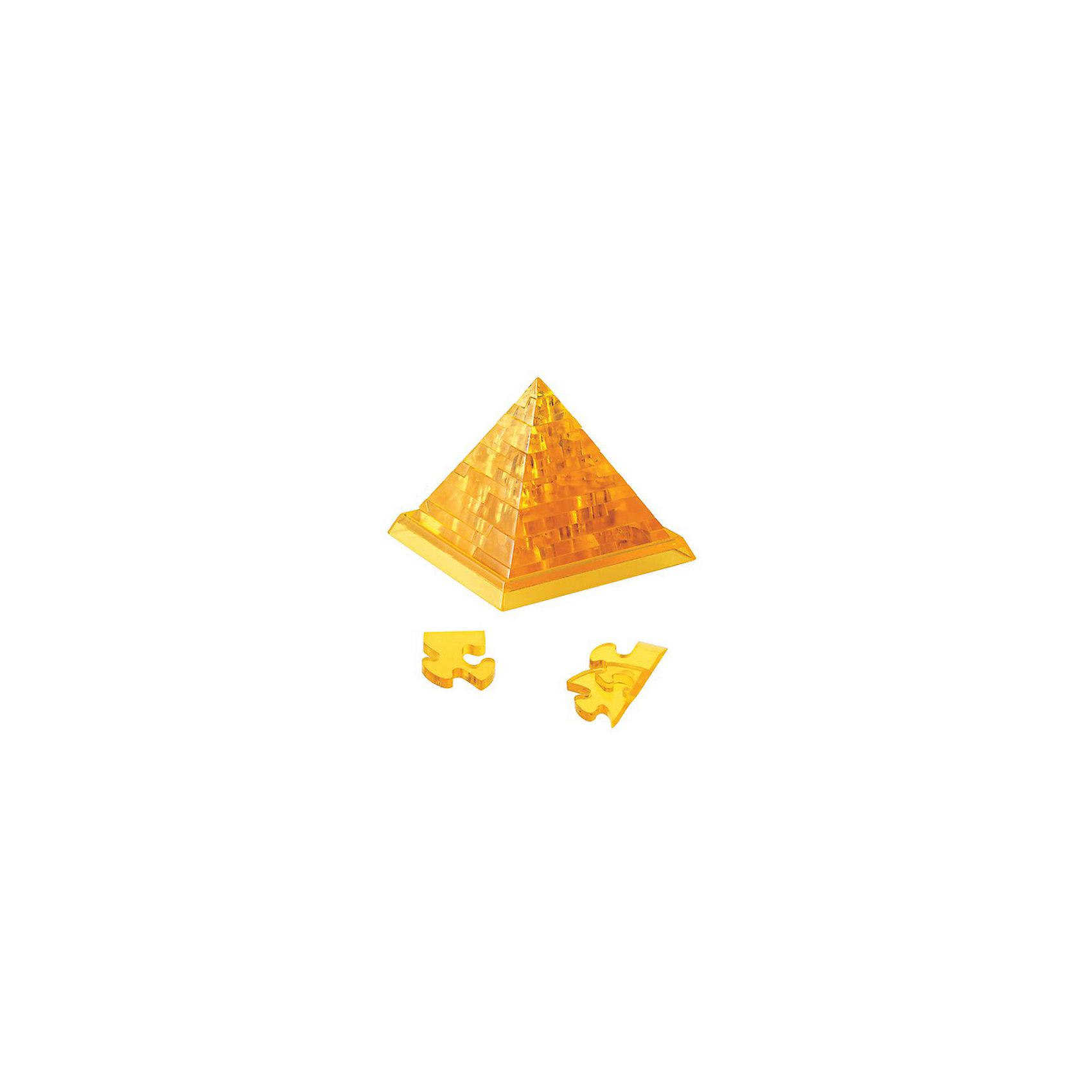 Кристаллический пазл 3D Пирамида L, CreativeStudioОбъемные головоломки воплощают в себе удачное сочетание тренажера для ума и приятного подарка близким, ведь процесс сборки 3D пазлов развивает пространственное мышление, память, логику и внимательность, а полученную в результате вещицу можно преподнести в качестве небольшого сувенира.<br><br>Ширина мм: 180<br>Глубина мм: 40<br>Высота мм: 135<br>Вес г: 178<br>Возраст от месяцев: 36<br>Возраст до месяцев: 1188<br>Пол: Унисекс<br>Возраст: Детский<br>SKU: 3164122