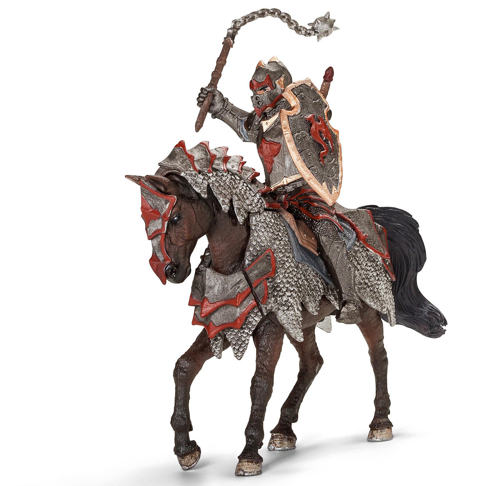 Schleich Рыцарь на коне с боевой палицей Орден Дракона, Schleich рыцарь на коне орден грифона schleich