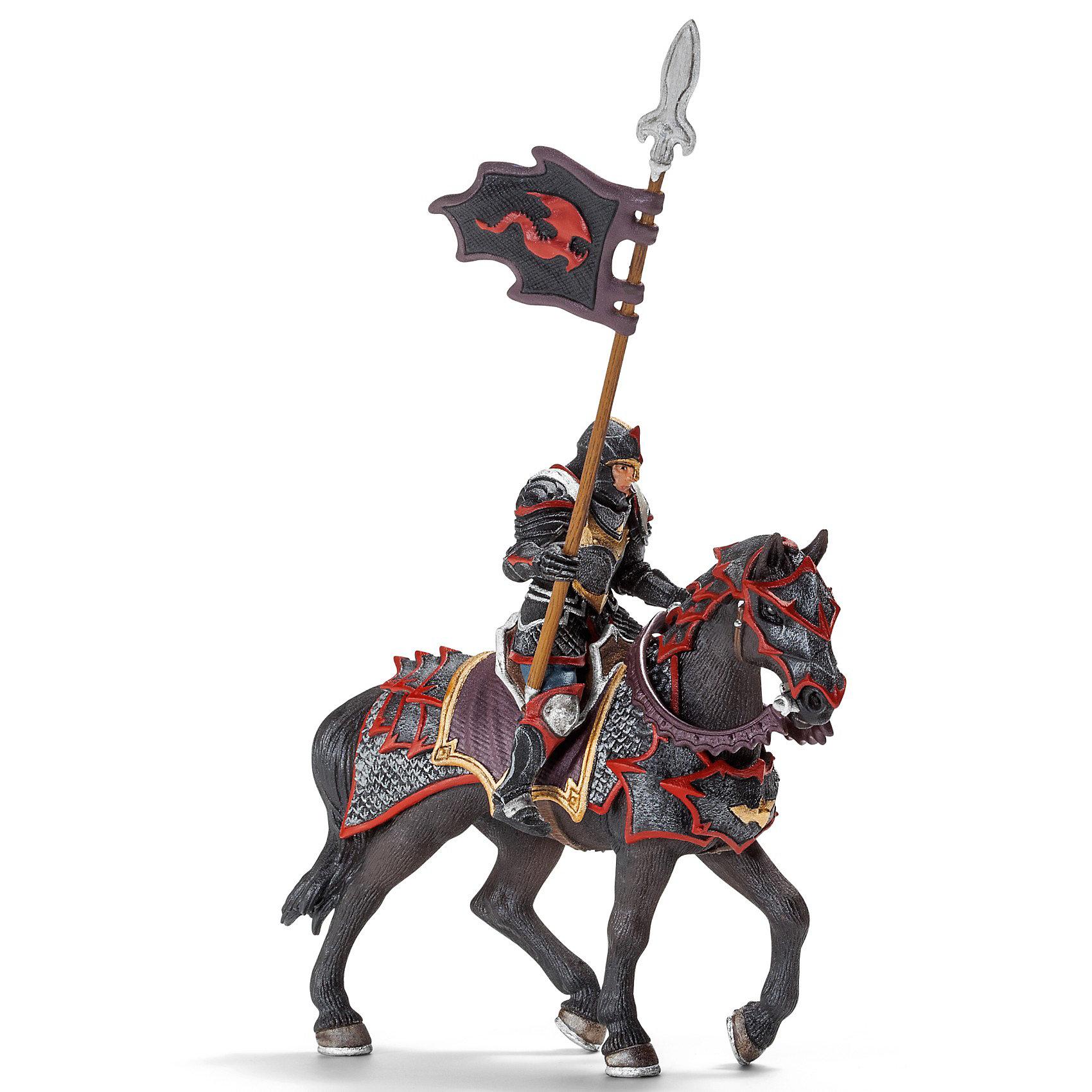 Рыцарь на коне с копьем Орден Дракона, SchleichСолдатики и рыцари<br>Рыцарь на коне с копьем Орден Дракона от Schleich (Шляйх) смело мчится на поле боя и ведет за собой остальных воинов. Рыцарь, отлично вооруженный доспехами, щитом и копьем на мощном боевом коне непобедим. Его лучший друг – Рыцарь Дракона с боевой секирой, они не раз выручали друг друга в беде.<br><br>Дополнительная информация:<br><br>-фигурка Рыцарь Дракона с копьем на коне, раскрашенная вручную, сделана из безопасного материала – каучукового пластика. <br>-всадник надежно крепится к лошади с помощью магнитов, встроенных в фигурку.<br>-размеры (ДхШхВ): 8,5х15х18 см<br><br>Рыцаря на коне с копьем Орден Дракона, Schleich (Шляйх) можно купить в нашем интернет - магазине.<br><br>Ширина мм: 204<br>Глубина мм: 170<br>Высота мм: 106<br>Вес г: 270<br>Возраст от месяцев: 36<br>Возраст до месяцев: 96<br>Пол: Мужской<br>Возраст: Детский<br>SKU: 3164158