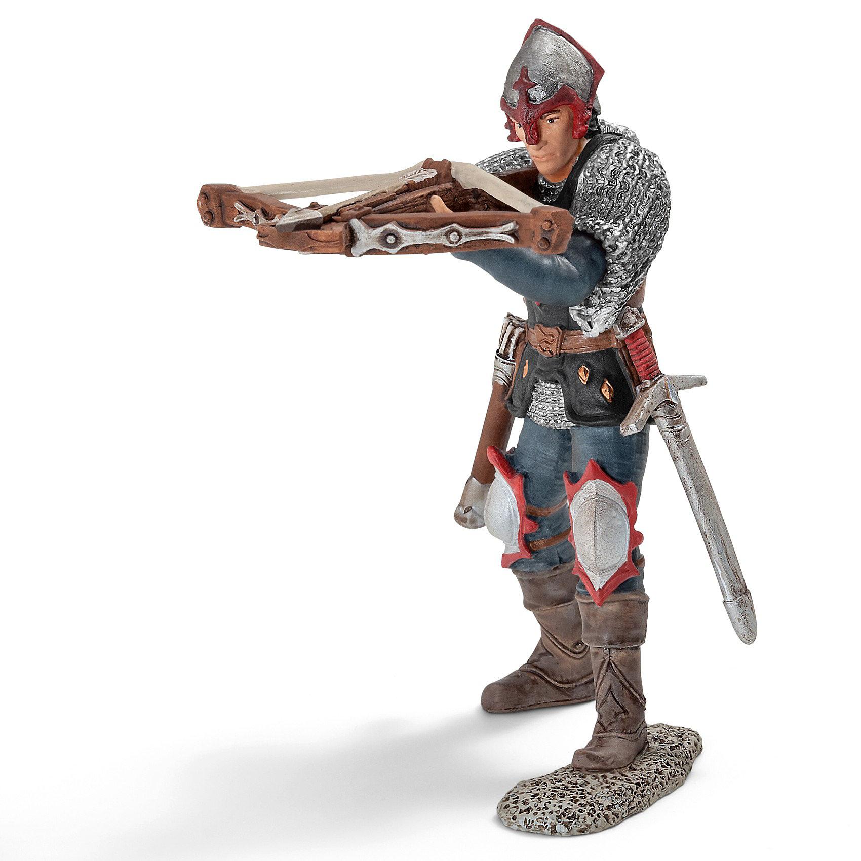 Schleich Рыцарь с арбалетом Орден Дракона, Schleich заграевский с бедный рыцарь храма