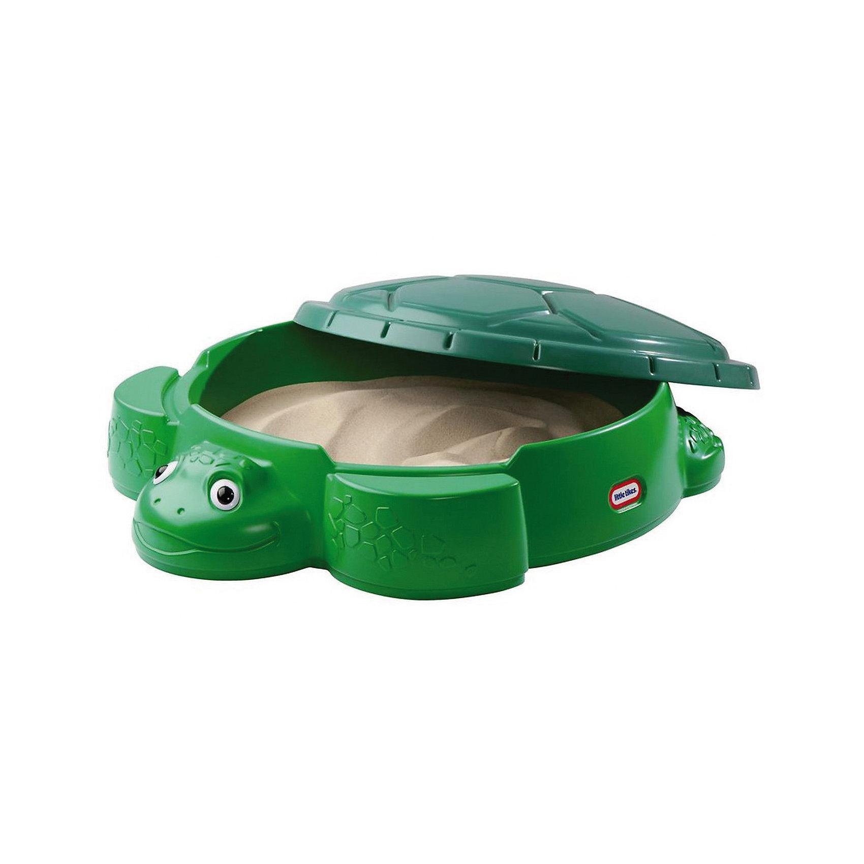 Little Tikes Песочница Черепаха с крышкой, Little Tikes органайзер little tikes органайзер карман для детских принадлежностей seat pal серый