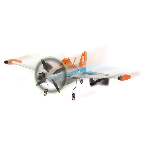 Самолет Дасти на р/у летающий, 1:20,25 см., DickieСамолёты и вертолёты<br>Самолет Дасти на радиоуправлении от Dickie станет приятным сюрпризом для Вашего ребенка, особенно если он поклонник мультфильма Самолеты (Planes). Дасти - главный персонаж мультфильма, маленький самолет-кукурузник, который мечтает стать победителем гонок самых быстрых самолётов. <br><br>Для запуска нужно подбросить самолет горизонтально резким движением вверх. Управление осуществляется с помощью пульта управления: самолет двигается вперед-влево-вправо. Частота радиоуправления: 27 МГц. Самолетик можно запускать только на больших открытых пространствах и только при слабом ветре.<br><br>Время зарядки батареек 45 минут. При полной зарядке полет самолета составляет 5-7 минут .<br><br>Дополнительная информация:<br><br>- Масштаб: 1:20.<br>- Материал: пенопласт.<br>- Требуются батарейки:  6 батареек АА, (в комплект не входят).<br>- Размер самолета: 25 см.<br>- Размер упаковки: 33 х 8 х 27,5 см.<br>- Вес:  0,51 кг.<br><br>Самолет Дасти на радиоуправлении Dickie можно купить в нашем интернет-магазине.<br>Ширина мм: 330; Глубина мм: 80; Высота мм: 280; Вес г: 1000; Возраст от месяцев: 144; Возраст до месяцев: 192; Пол: Унисекс; Возраст: Детский; SKU: 3167818;