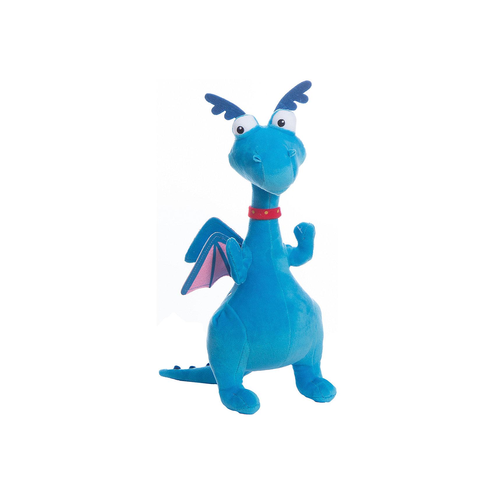 Мягкая игрушка Стаффи, 25 см, NicotoyМягкие игрушки из мультфильмов<br>Характеристики:<br><br>• по мотивам мультфильма Доктор Плюшева;<br>• высота игрушки: 25 см;<br>• материал: полиэстер;<br>• размер упаковки: 30х7х12 см;<br>• вес: 200 грамм;<br>• страна бренда: Германия.<br><br>Стаффи- забавный дракон, обладающий огромной тягой к интересным приключениям. С мягкой игрушкой ребенок сможет помочь Стаффи, придумав и воссоздав в игре множество захватывающих историй.<br><br>Игрушка изготовлена из высококачественного полиэстера, безопасного для детей. Она приятна на ощупь и не вызывает аллергических реакций. <br><br>Дракон очень похож на свой прототип из мультфильма Доктор Плюшева. Его большие глаза, маленькие крылышки и забавные рожки никого не оставят равнодушным.<br><br>Мягкую игрушку Стаффи, 25 см, Nicotoy (Никотой) можно купить в нашем интернет-магазине.<br><br>Ширина мм: 276<br>Глубина мм: 101<br>Высота мм: 127<br>Вес г: 120<br>Возраст от месяцев: 12<br>Возраст до месяцев: 2147483647<br>Пол: Женский<br>Возраст: Детский<br>SKU: 3168394