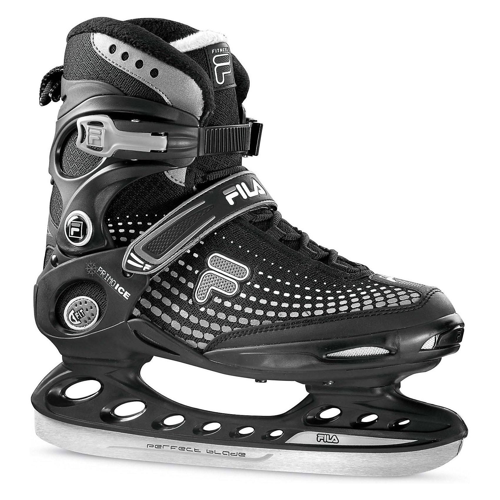 Ледовые коньки Primo Ice, черный/белый, FILA