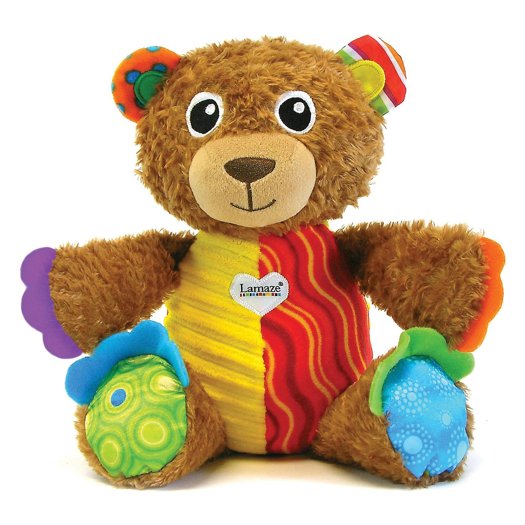 Lamaze Игрушка Мой первый плюшевый медвежонок, Lamaze игрушка электронная развивающая мой первый ноутбук