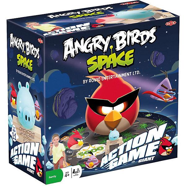 Игра Космос.  Angry Birds, Tactic GamesAngry Birds<br>Поиграй в Angry Birds (Злые Птички) в реальной жизни! Эта игра для активного отдыха создана специально для поклонников этого знаменитого приложения. Необычный космический дизайн, ледяная свинка, еще больший полет фантазии! Цель игры – сбить свинку!<br><br>Дополнительная информация:<br><br>- В комплект входит: ледяная свинка из пластмассы, красная птичка, лазерная птичка, игровое поле, 5 деревянных брусков, сумка для переноски, 4 пластиковых колышка, блокнот для подсчета очков и правила игры.<br><br>Ширина мм: 250<br>Глубина мм: 250<br>Высота мм: 160<br>Вес г: 900<br>Возраст от месяцев: 48<br>Возраст до месяцев: 192<br>Пол: Унисекс<br>Возраст: Детский<br>SKU: 3174985