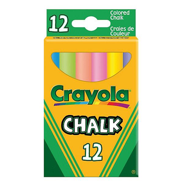 12 мелков с пониженным выделением пыли, CrayolaМелки для асфальта<br>Ваш ребёнок любит рисовать мелками, но после таких занятий творчеством Вам приходится оттирать следы от мела? Данный набор из 12 цветных мелков от Крайола - это настоящий подарок не только для малышей, но и для их мам, которым больше не придется с огромным трудом оттирать с детской одежды следы мела. <br><br>Мел с пониженным выделением пыли торговой марки Crayola не пачкает одежду и руки малыша. Он не рассыпается и не вызывает у ребенка аллергических реакций. Яркие цветные мелки, размер которых составляет 1х8 см, могут быть использованы для рисования на асфальте или доске. Такие мелки с пониженным выделением пыли широко используются для проведения занятий в детских садах и школах. Пусть детство Вашего ребёнка будет весёлым и красочным!<br><br>12 мелков с пониженным выделением пыли от Crayola (Крайола) можно купить в нашем интернет-магазине.<br>Ширина мм: 60; Глубина мм: 20; Высота мм: 105; Вес г: 120; Возраст от месяцев: 36; Возраст до месяцев: 108; Пол: Унисекс; Возраст: Детский; SKU: 3175006;
