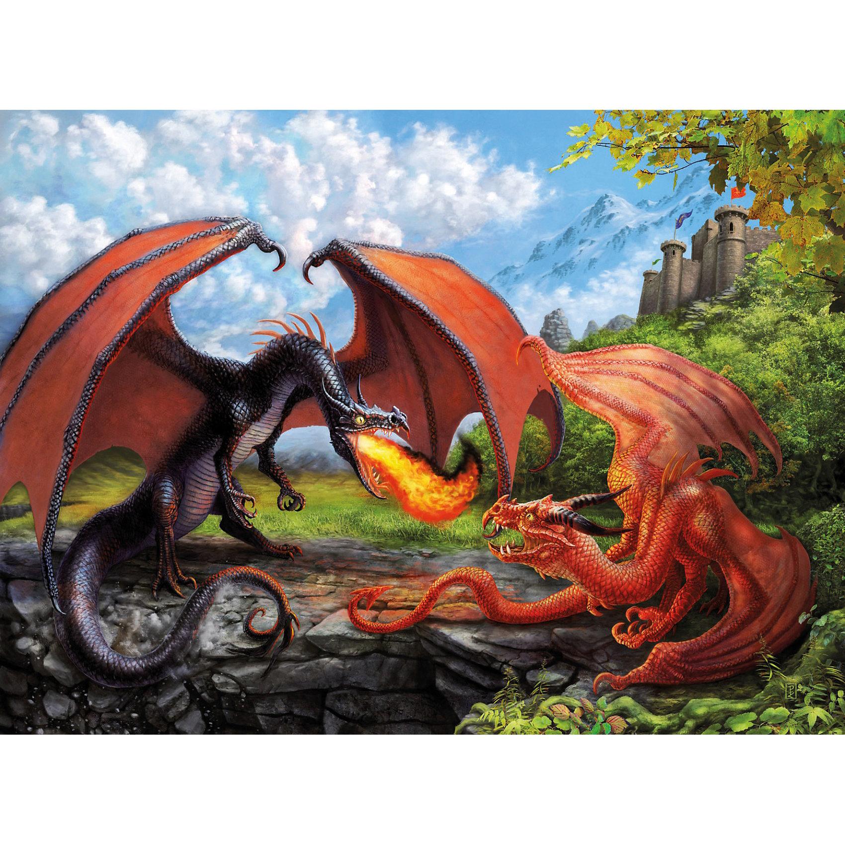 Пазл «Битва драконов» XXL 200 деталей, Ravensburger от myToys