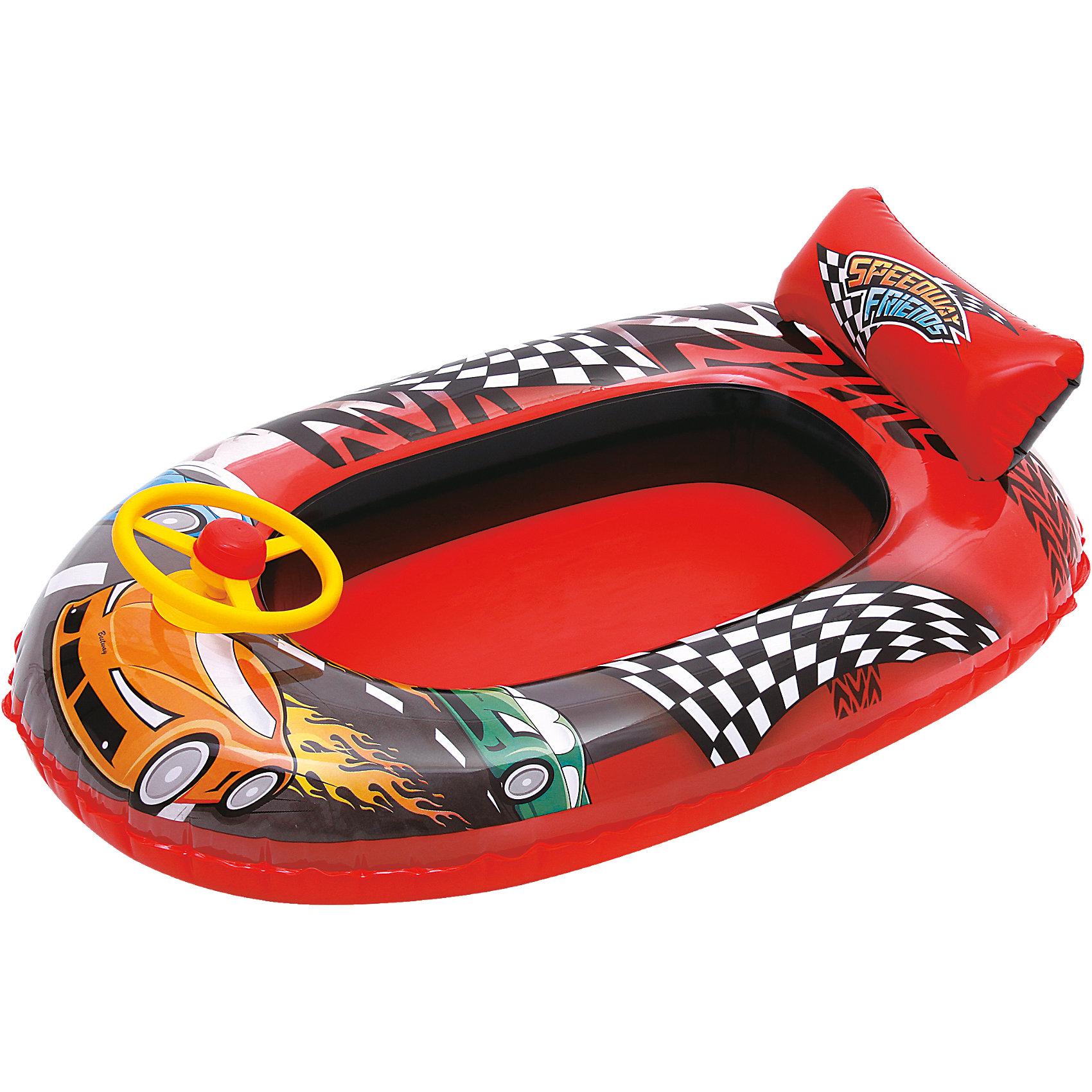 """Bestway, Круг для плавания с сиденьем """"машина"""","""