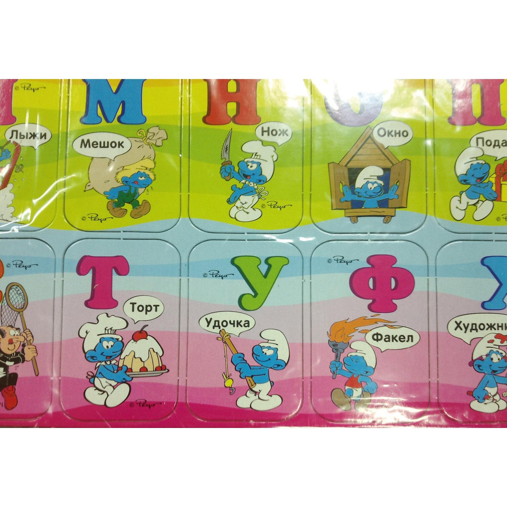 Алфавит на магнитах, Смурфики от myToys