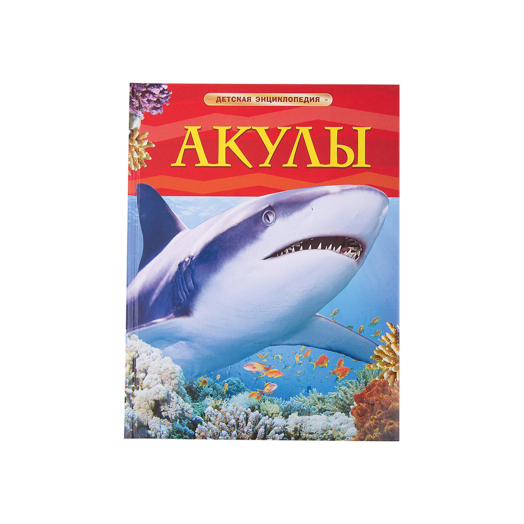 Детская энциклопедия АкулыЭнциклопедии о животных<br>Эта красочная детская энциклопедия посвящена таинственным и опасным рыбам – акулам. Здесь есть информация о самых разных видах акул, их образе жизни, повадках.<br><br>Из книги можно узнать, как плавают данные хищники, как воспринимают окружающий мир, чем дышат, как едят, как охотятся и размножаются. В издании собраны самые интересные факты об этих удивительных животных.<br><br>Расширяй свой кругозор и становись эрудитом вместе с детскими энциклопедиями от Росмэн!<br><br><br>Дополнительная информация:<br><br>- Автор: Миллер Д. Ш.<br>- Иллюстрации: цветные<br>- Год выпуска: 2012<br>- Формат: 196 x 255 мм<br>- Вес: 380 г<br>- Количество страниц: 64<br>- ISBN: 978-5-353-05752-9<br><br>Ширина мм: 265<br>Глубина мм: 202<br>Высота мм: 9<br>Вес г: 380<br>Возраст от месяцев: 60<br>Возраст до месяцев: 84<br>Пол: Унисекс<br>Возраст: Детский<br>SKU: 3177473