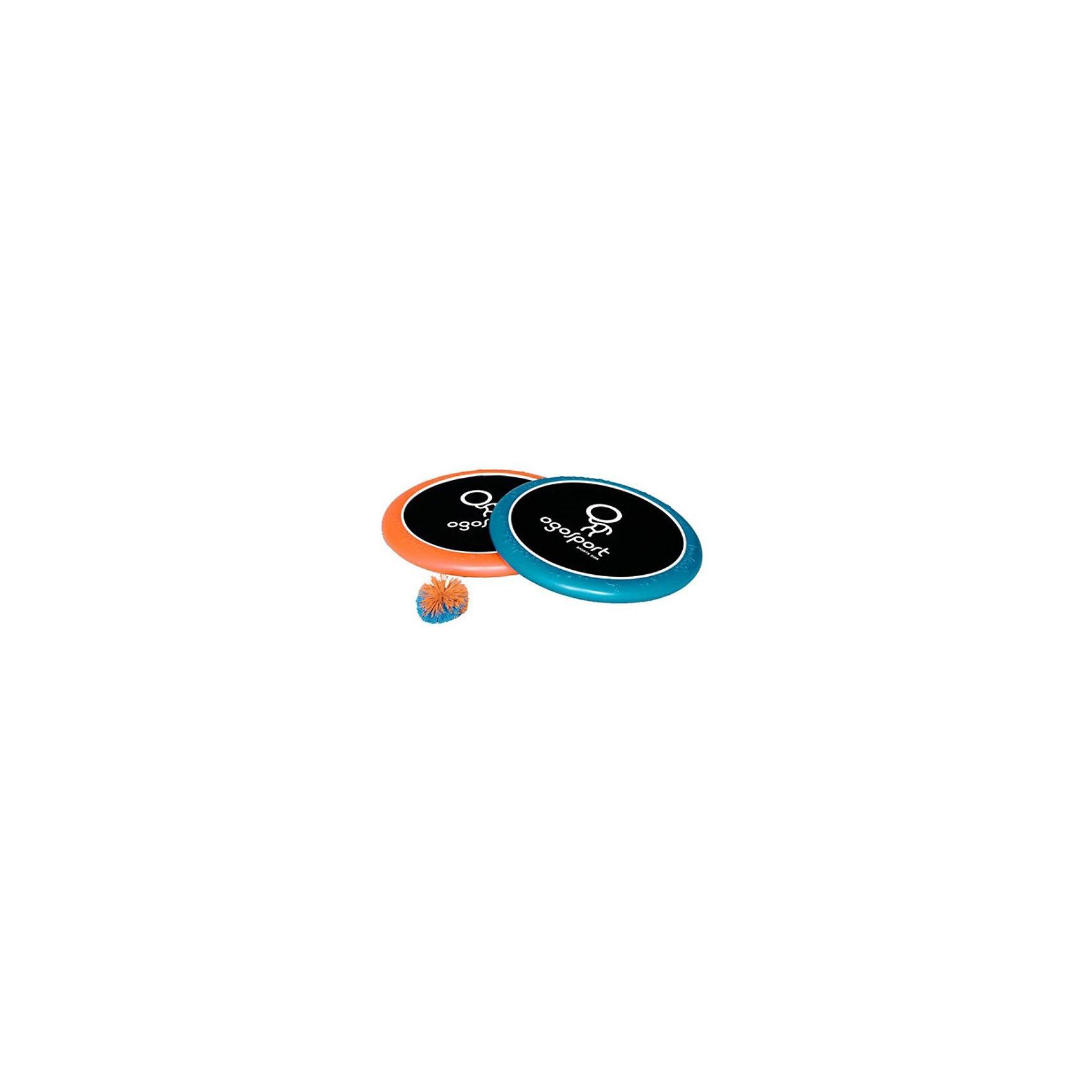 Игра Биг, ОгоспортОгоспорт - это спортивная игра огодисками. Комплект для игры Огоспорт состоит из 2 огодисков, и одного мячика. <br>Огодиск - это специальный диск, состоящий из пенообразного материала, с натянутой по центру эластичной сеточкой. Огодиск имеет эргономичный дизайн, его приятно держать в руке, он обладает отличными аэродинамическими характеристиками, благодаря чему огодиск прекрасно подходит для спортивной игры фрисби.<br><br>Огоспорт игра Биг от других моделей отличается только размерами, которые и делают его лучшим вариантом для игр. Подходит для самых активных игроков.<br><br>Дополнительная информация:<br><br>-диаметр огодиска: 38 см<br><br>Игру Биг, Огоспорт (Ogosport) можно купить в нашем магазине.<br><br>Ширина мм: 370<br>Глубина мм: 70<br>Высота мм: 390<br>Вес г: 550<br>Возраст от месяцев: 36<br>Возраст до месяцев: 1188<br>Пол: Унисекс<br>Возраст: Детский<br>SKU: 3180383