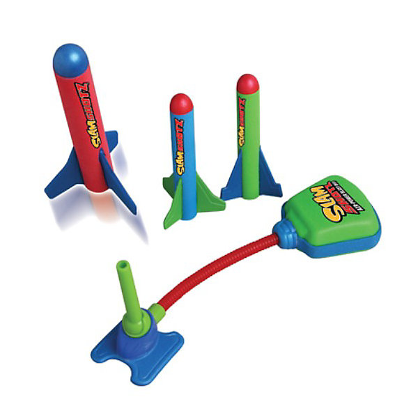 Zing Ракетная установка Мини (Slam Shotz)Игровые наборы<br>Ракетная установка Slam Shotz — это уменьшенная копия Zomp Rocket специально для игр дома. В набор входят:<br>ракетная установка, способная сделать выстрел до 25 метров в высоту и 3 весёлые и мягкие ракеты.<br> Slam Shotz - это отличный способ немного отвлечься от рабочего процесса, но Slam Shotz найдут место и в самых обычных детских играх — с ним можно, например, устроить соревнование. <br> Не переживайте, что ребенок  может разбить стекло в серванте или поранится — ракеты созданы для безопасных развлечений, из мягкого и легкого материала.<br>Ширина мм: 110; Глубина мм: 30; Высота мм: 200; Вес г: 300; Возраст от месяцев: 60; Возраст до месяцев: 1188; Пол: Унисекс; Возраст: Детский; SKU: 3180393;