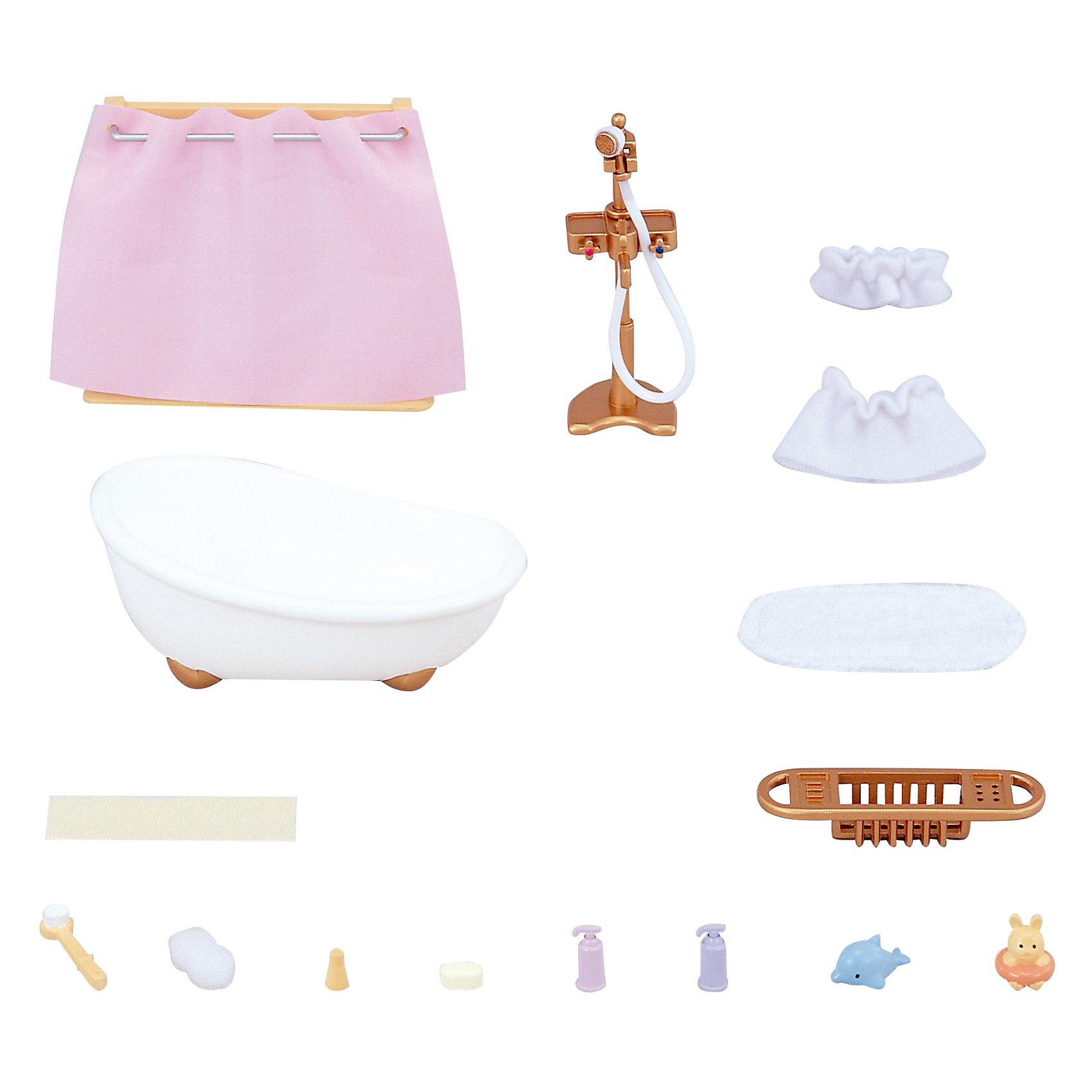 - Набор Ванная комната мини Sylvanian Families