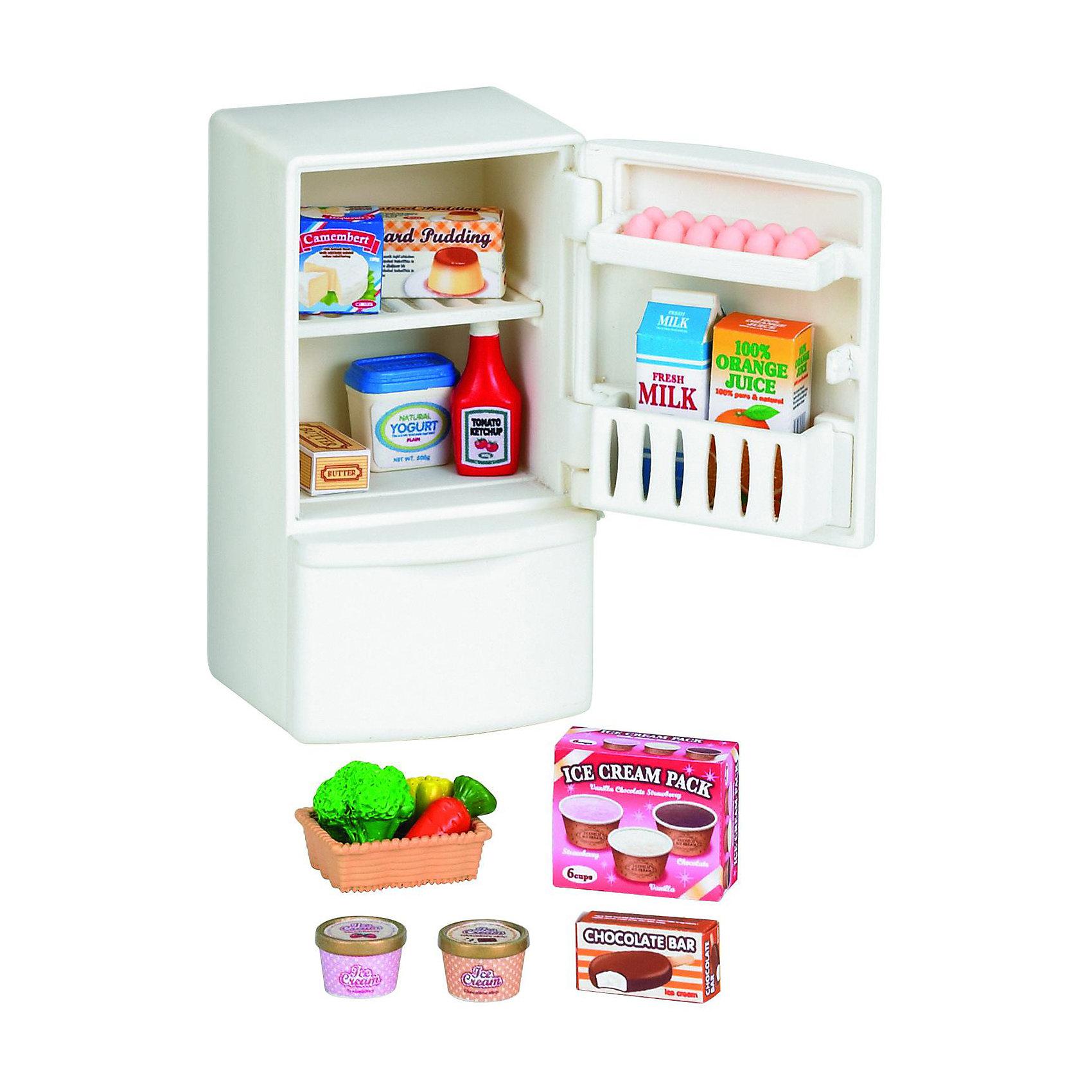 - Набор Холодильник с продуктами Sylvanian Families холодильник с продуктами