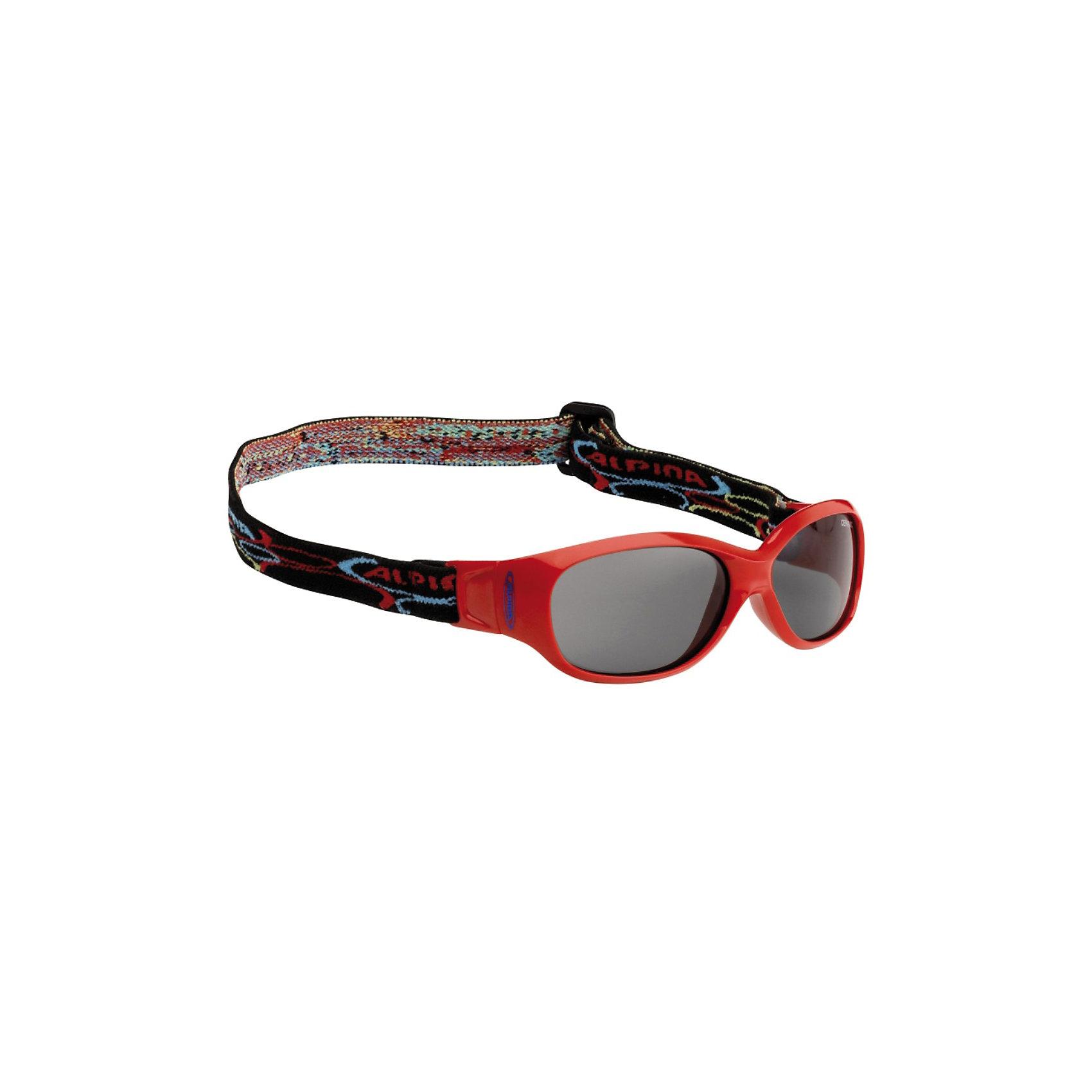 Очки солнцезащитные SPORTS FLEXXY KIDS, красные, ALPINAСолнцезащитные очки<br><br><br>Ширина мм: 128<br>Глубина мм: 81<br>Высота мм: 35<br>Вес г: 40<br>Цвет: красный<br>Возраст от месяцев: 48<br>Возраст до месяцев: 144<br>Пол: Унисекс<br>Возраст: Детский<br>SKU: 3183932