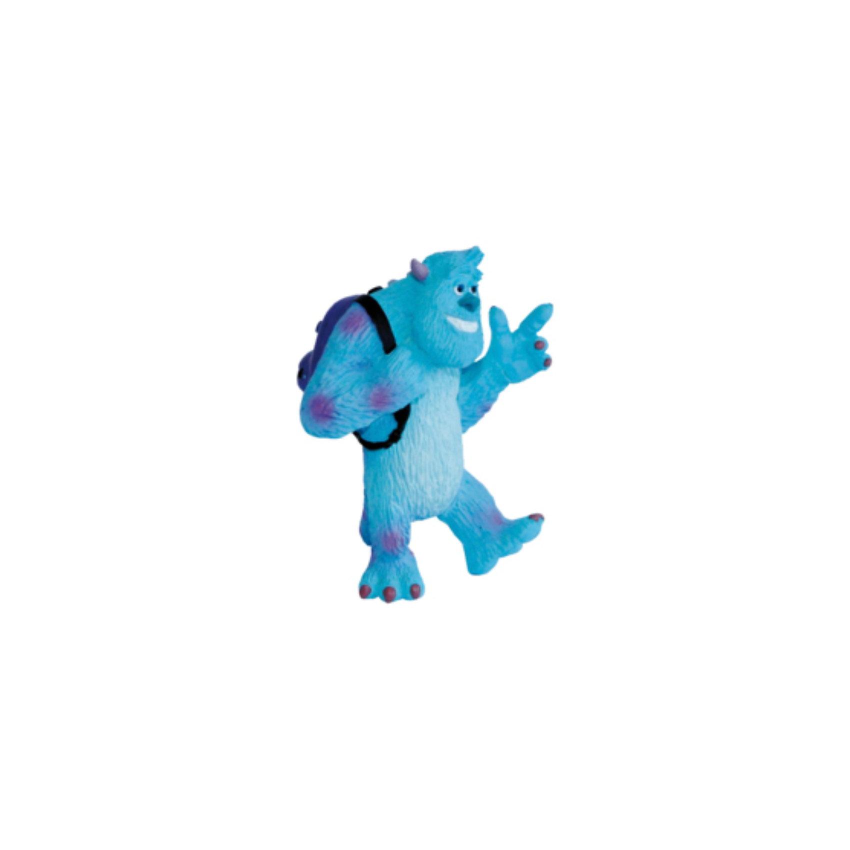 Фигурка Салли, Университет МонстровУниверситет монстров<br>Фигурка монстра Салливана из мультфильма компании Пиксар «Университет Монстров». Представьте себе мохнатого и забавного монстра с короткими рожками и бирюзовой шерстью! Добряк Салли считает, что учиться ему совсем не нужно. Конечно, вскоре Салли и его друга Майка исключат со Страшильного факультета. Фигурка обаятельного, мохнатого монстра очень нравится детям. Игрушка выполнена из высококачественных, нетоксичных материалов и безопасна для детей. <br><br>Дополнительная информация:<br><br>Размер: 7 см <br>Материал: термопластичный каучук высокого качества. <br> <br>Фигурку Салли, Университет Монстров можно купить в нашем магазине.<br><br>Ширина мм: 85<br>Глубина мм: 57<br>Высота мм: 38<br>Вес г: 33<br>Возраст от месяцев: 36<br>Возраст до месяцев: 96<br>Пол: Унисекс<br>Возраст: Детский<br>SKU: 3188735