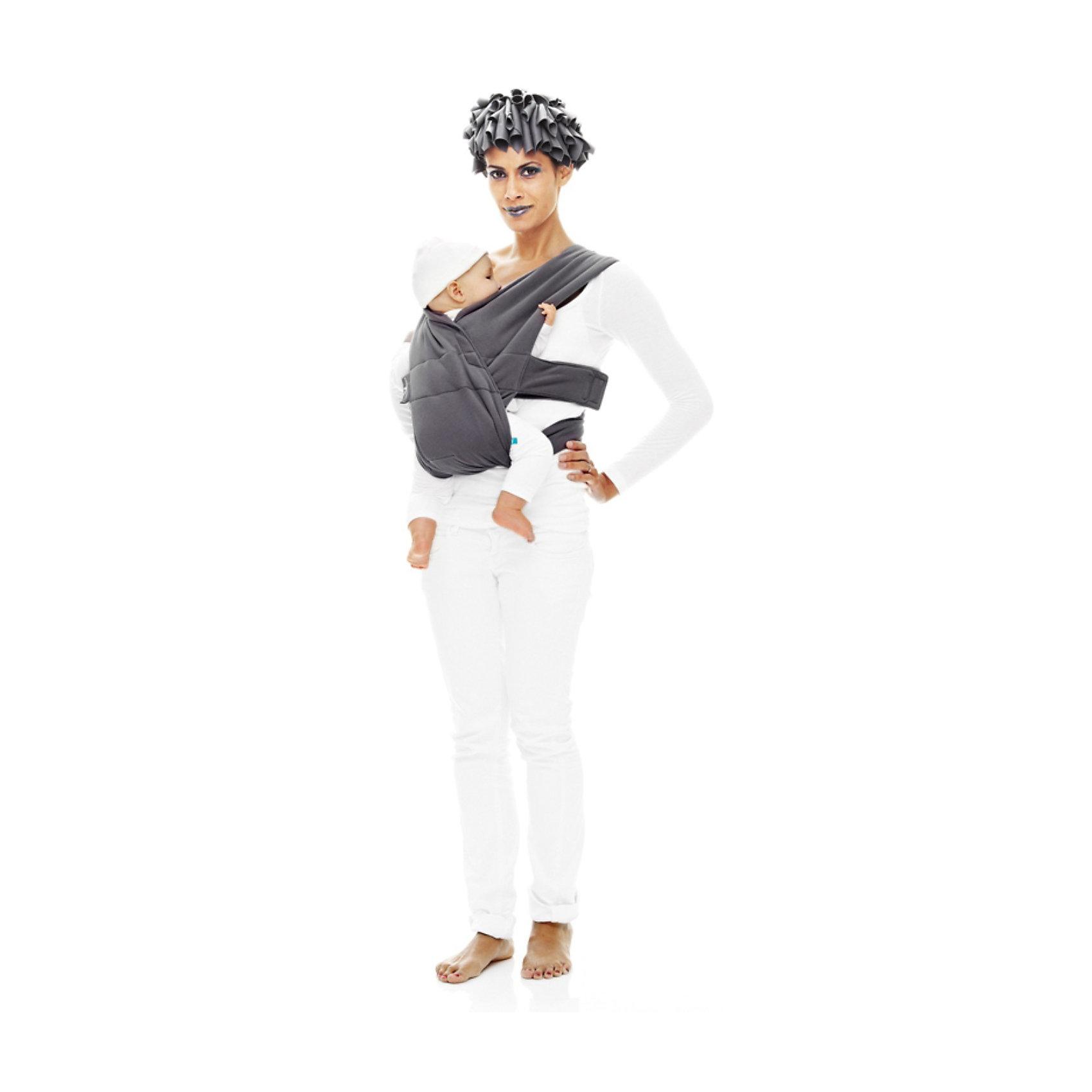 Рюкзак-переноска, Wallaboo, серыйРюкзак-переноска, Валлабу, серый – новинка от Wallaboo, эксперта в производстве качественных, стильных и удобных товаров для мам и малышей. Рюкзак подарит комфорт малышу и обеспечит удобство передвижения маме.<br>Современный эргономичный рюкзак-переноска от Wallaboo придуман для заботливых родителей и чудесных малышей, в нем  использованы преимущества разнообразных видов рюкзаков–переносок и устранены любые неудобства для мамы или малыша. Это изделие Вы сможете быстро и легко приспособить к своей фигуре. Благодаря мягкому натуральному материалу оригинальный рюкзак от Wallaboo (Валлабу) будет намного комфортнее любой модели рюкзака, сделанной из полиэстера. Он выполнен из прочного 100% хлопка, пропускающего воздух. Широкие ремни на плечах и уникальное решение с перекрестными ремнями на спине обеспечат оптимальное распределение нагрузки. Легкий и компактный рюкзак удобно взять с собой в путешествие или на прогулку. Стильный и оригинальный двухцветный дизайн подчеркнет ваш модный и динамичный образ.<br><br>Дополнительная информация:<br><br>- Материал: 100% двусторонний хлопковый трикотаж<br>- Испытания на безопасность: материалы и готовое изделие соответствуют сертификату качества ЕС (BS EN 13209-2)<br>- Особенности: широкая поддерживающая часть под ягодицами и коленками малыша обеспечивает правильное разведение ножек ребенка в эргономичной позе<br>- Регулировка: простая и быстрая при помощи надежных и безопасных застежек-липучек высокого качества, рюкзак растет вместе с Вашим малышом<br>- Использование: легкий и компактный рюкзак удобно взять с собой в путешествие или на прогулку; малыш может находиться в двух естественных положениях «лицом к маме» и «лицом вперед»<br>- Стильный двухцветный дизайн помогает легко отличить лицевую сторону рюкзака от изнанки<br>- Инструкция-схема вшита внутри<br>- Размер: один универсальный размер<br>- Возраст: от рождения до 12 месяцев<br>- Вес ребенка: от 3,5 до 15 кг (рекомендация производителя)<br>- У
