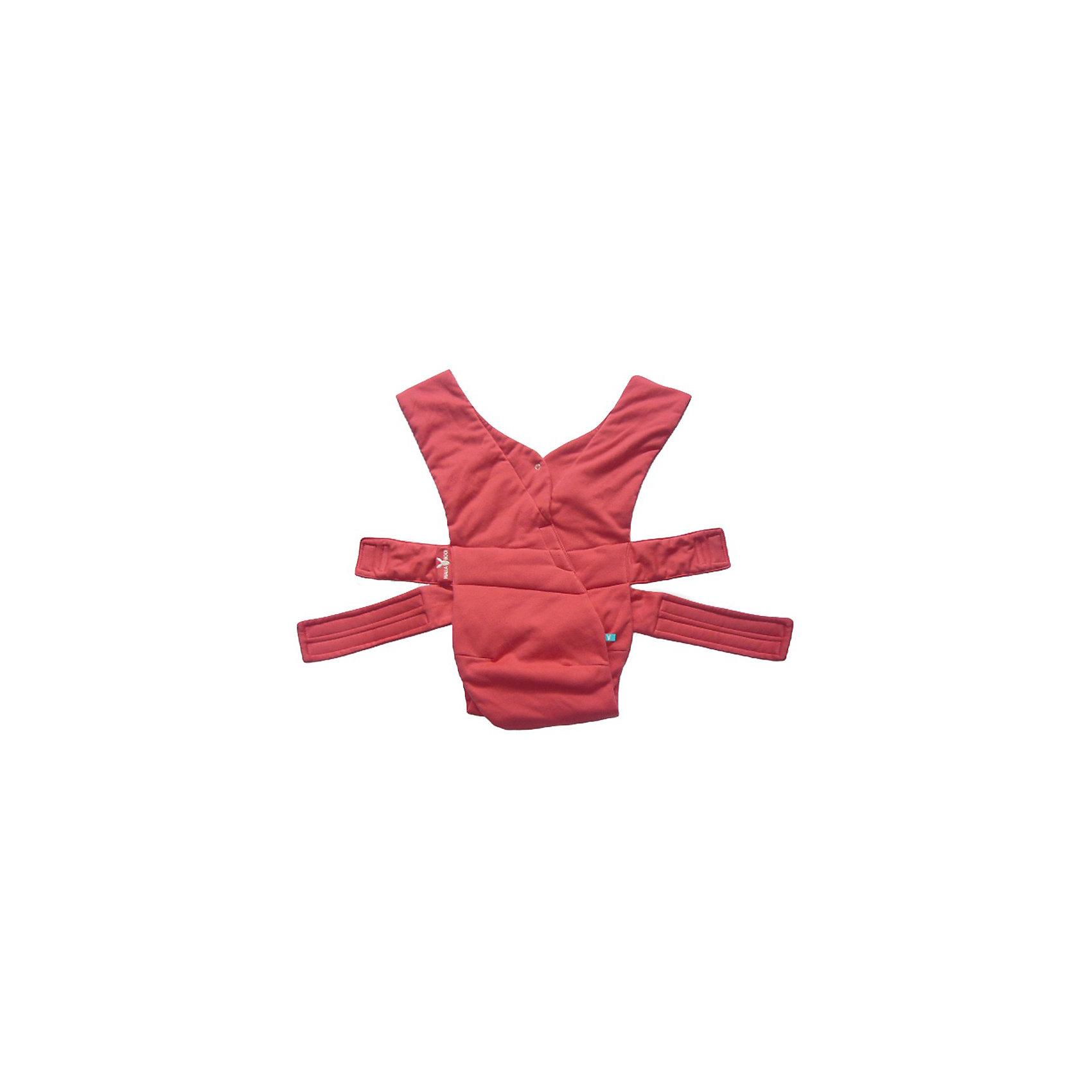 Рюкзак-переноска, Wallaboo, красныйРюкзак-переноска, Валлабу, красный – новинка от Wallaboo, эксперта в производстве качественных, стильных и удобных товаров для мам и малышей. Рюкзак подарит комфорт малышу и обеспечит удобство передвижения маме.<br>Современный эргономичный рюкзак-переноска от Wallaboo придуман для заботливых родителей и чудесных малышей, в нем  использованы преимущества разнообразных видов рюкзаков–переносок и устранены любые неудобства для мамы или малыша. Это изделие Вы сможете быстро и легко приспособить к своей фигуре. Благодаря мягкому натуральному материалу оригинальный рюкзак от Wallaboo (Валлабу) будет намного комфортнее любой модели рюкзака, сделанной из полиэстера. Он выполнен из прочного 100% хлопка, пропускающего воздух. Широкие ремни на плечах и уникальное решение с перекрестными ремнями на спине обеспечат оптимальное распределение нагрузки. Легкий и компактный рюкзак удобно взять с собой в путешествие или на прогулку. Стильный и оригинальный двухцветный дизайн подчеркнет ваш модный и динамичный образ.<br><br>Дополнительная информация:<br><br>- Материал: 100% двусторонний хлопковый трикотаж<br>- Испытания на безопасность: материалы и готовое изделие соответствуют сертификату качества ЕС (BS EN 13209-2)<br>- Особенности: широкая поддерживающая часть под ягодицами и коленками малыша обеспечивает правильное разведение ножек ребенка в эргономичной позе<br>- Регулировка: простая и быстрая при помощи надежных и безопасных застежек-липучек высокого качества, рюкзак растет вместе с Вашим малышом<br>- Использование: легкий и компактный рюкзак удобно взять с собой в путешествие или на прогулку; малыш может находиться в двух естественных положениях «лицом к маме» и «лицом вперед»<br>- Стильный двухцветный дизайн помогает легко отличить лицевую сторону рюкзака от изнанки<br>- Инструкция-схема вшита внутри<br>- Размер: один универсальный размер<br>- Возраст: от рождения до 12 месяцев<br>- Вес ребенка: от 3,5 до 15 кг (рекомендация производителя)<br