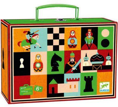 Настольная игра Шахматы и шашки , DJECO