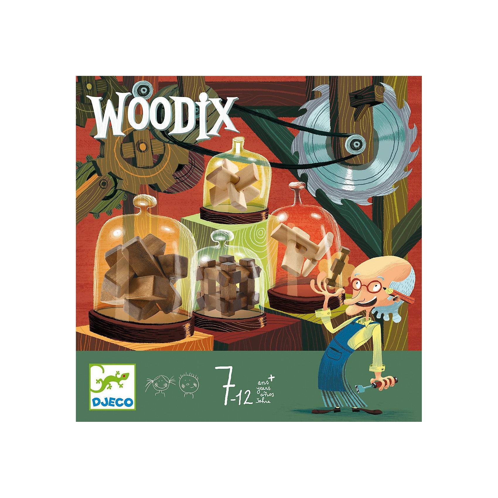 DJECO Деревянные головоломки, DJECO двери не стандартные деревянные где купить