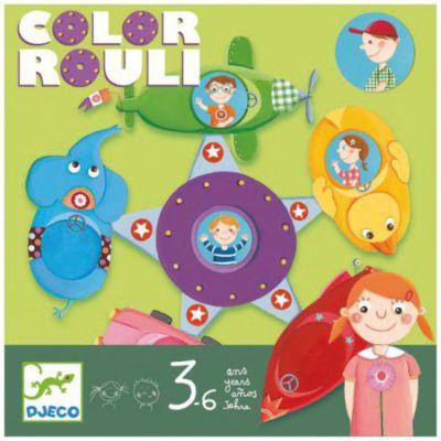 Настольная игра Цветное путешествие , DJECO