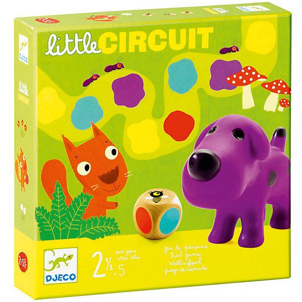 Настольная игра Маленькая дорожка, DJECOИзучаем цвета и формы<br>Классическая настольная игра – ходилка. <br>Нужно помочь маленьким зверькам прийти к финишу первыми. Тот, чей герой приходит первый, получает призовую фишку. <br>Первая настольная игра для развития стратегического мышления, повторения цветов. <br><br>Дополнительная информация:<br><br>- В комплекте: 4 животных, 1 кубик<br><br>Настольную Игру Маленькая дорожка, DJECO (Джеко) можно купить в нашем магазине.<br><br>Ширина мм: 220<br>Глубина мм: 220<br>Высота мм: 50<br>Вес г: 680<br>Возраст от месяцев: 24<br>Возраст до месяцев: 60<br>Пол: Унисекс<br>Возраст: Детский<br>SKU: 3193447