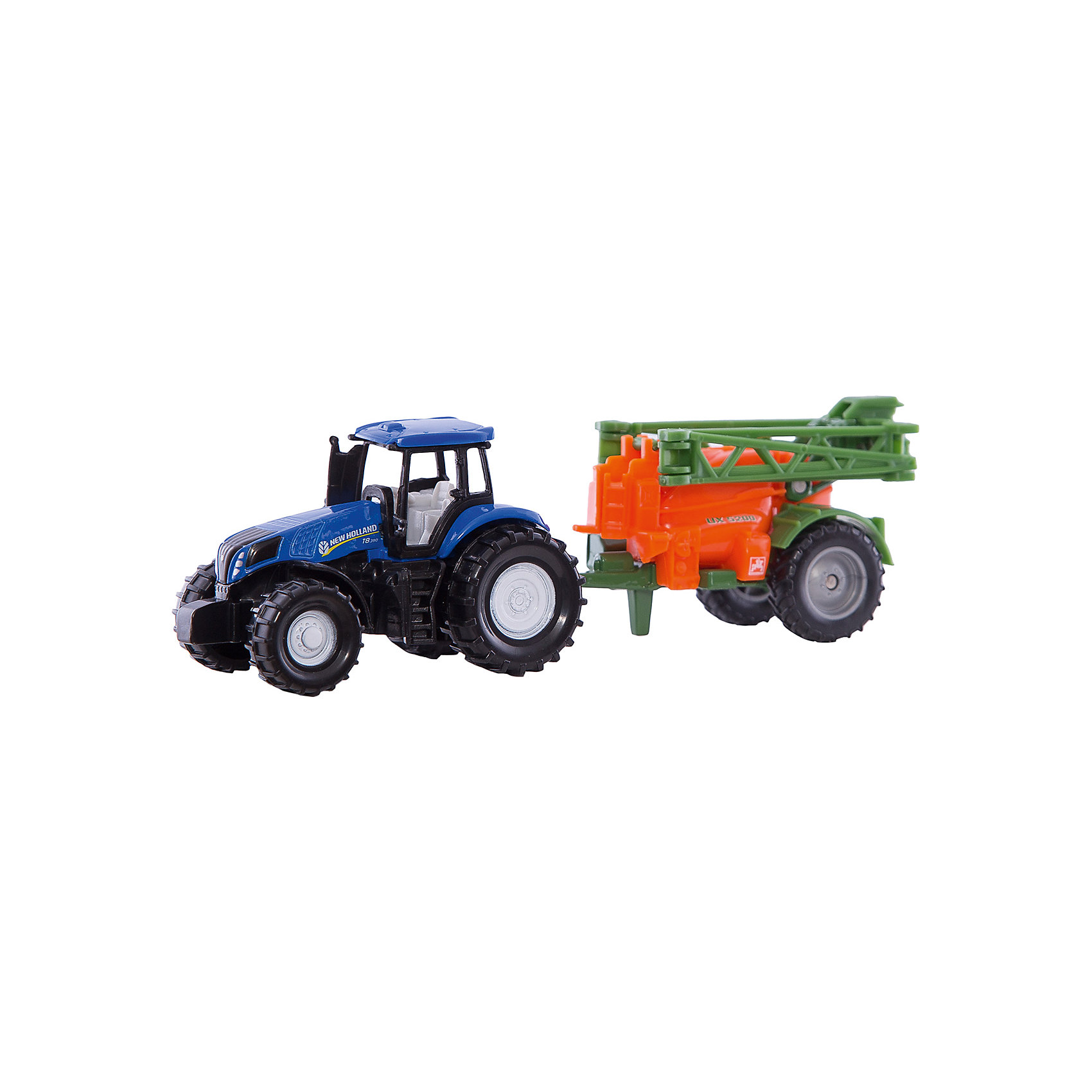 SIKU Трактор с прицепом, SIKU игрушка siku трактор new holland t8 390 6 7 3 4 4 4см 1012