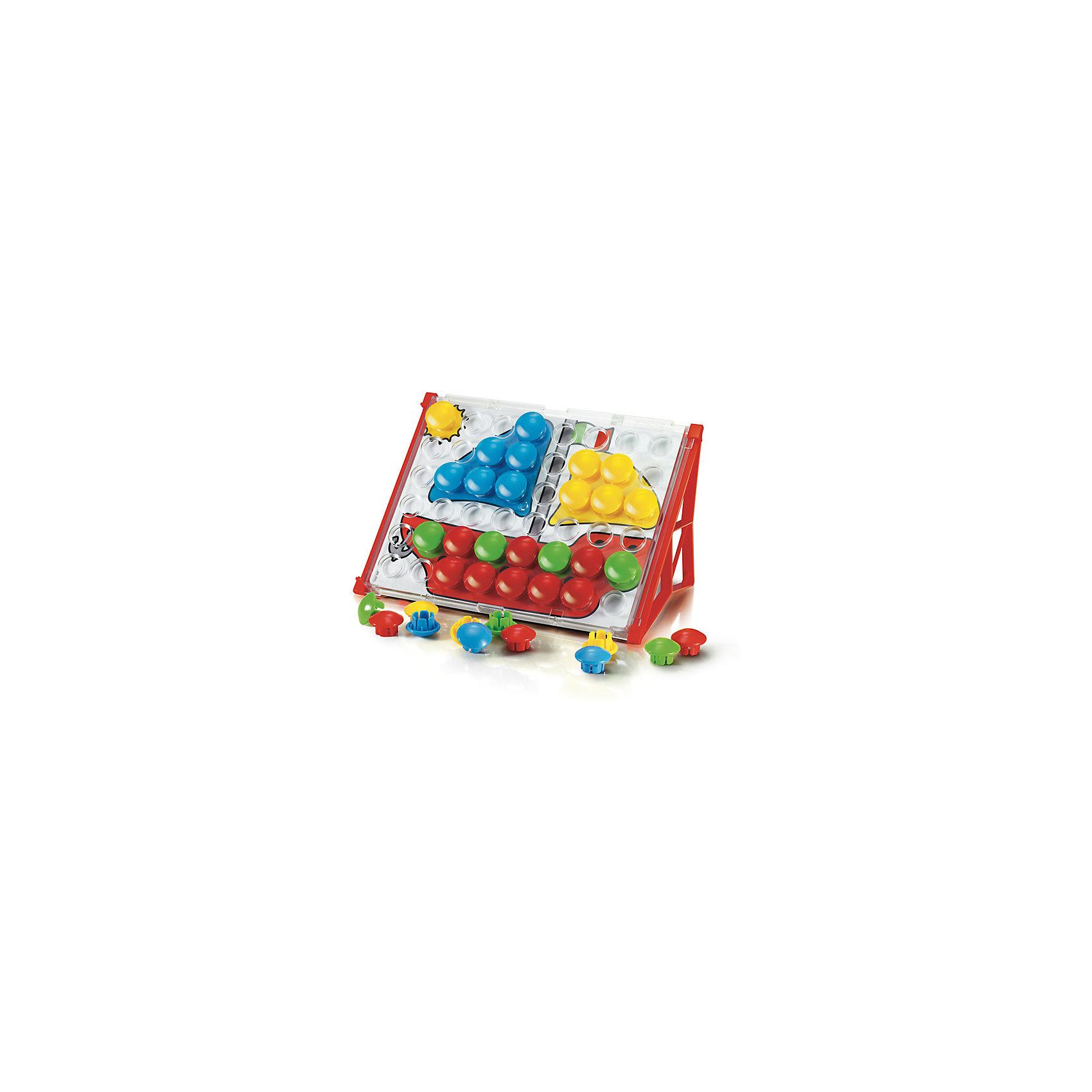 """Мозаика """"Фантастические цвета"""" для малышей """"Джуниор бейсик"""", 48 деталей, Quercetti от myToys"""