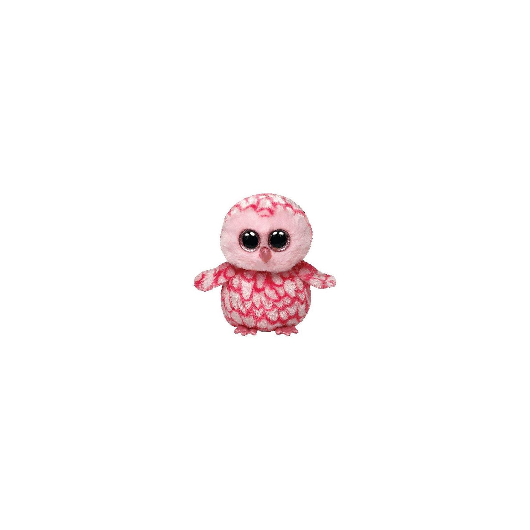 Совенок (розовый) Pinky, 15,24 смЗвери и птицы<br>Совенок (розовый) Pinky, 15,24 см – игрушка от бренда TY Inc (ТАЙ Инкорпорейтед), знаменитого своими мягкими игрушками, в качестве наполнителя для которых используются гранулы. Совенок выполнен из качественного и гипоаллергенного плюша с нанесенным на него рисунком-имитацией оперения, мордочка – из розового меха. У игрушки большие выразительные глаза. Используемые материалы делают игрушку прочной, устойчивой к изменению цвета и формы, ее разрешается стирать.<br>Совенок (розовый) Pinky, 15,24 см TY Inc непременно станет любимой игрушкой для вашего ребенка, а уникальный наполнитель будет способствовать  не  только развитию мелкой моторики пальцев, но и оказывать релаксирующее воздействие.<br><br>Дополнительная информация:<br><br>- Вид игр: сюжетно-ролевые игры, интерьерные игрушки, для коллекционирования<br>- Предназначение: для дома<br>- Пол: для девочки<br>- Материал: плюш, пластик, наполнитель ? гранулы<br>- Высота: 15, 24 см<br>- Особенности ухода: разрешается стирка<br>Подробнее:<br><br>• Для детей в возрасте: от 12 месяцев и до 5 лет <br>• Страна производитель: Китай<br>• Торговый бренд: TY Inc <br><br>Совенка (розового) Pinky, 15,24 см можно купить в нашем интернет-магазине.<br><br>Ширина мм: 159<br>Глубина мм: 103<br>Высота мм: 81<br>Вес г: 91<br>Возраст от месяцев: 12<br>Возраст до месяцев: 60<br>Пол: Унисекс<br>Возраст: Детский<br>SKU: 3214622