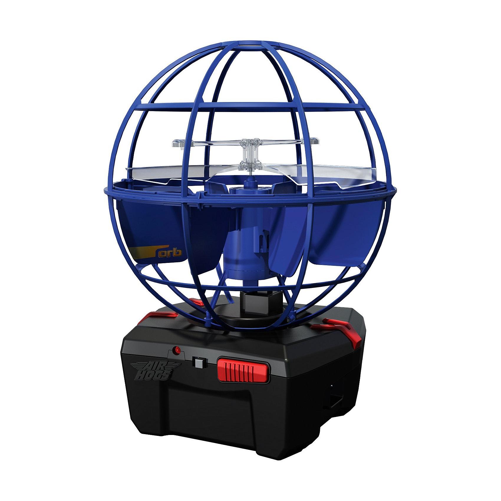 Игрушка НЛО Летающий шар, в ассортименте, AIR HOGSИгрушка НЛО Летающий шар, AIR HOGS - необычная игрушка, которая светится во время полета и может управляться при помощи рук, без пульта дистанционного управления (игроку необходимо лишь поднести ладонь к основанию летающего шара AIR HOGS НЛО).<br><br>У игрушки AIR HOGS НЛО есть сенсорные датчики, которые позволяют ей облетать препятствия, не задевая их, а также зависать в воздухе.<br>Игрушка шар летающий AIR HOGS НЛО может быть использована одним игроком или же с ней могут играть два игрока, перекидывая ее друг другу.<br>Летающий шар AIR HOGS НЛО может летать на определенном расстоянии от поверхности. Ребенок может самостоятельно регулировать высоту полета при помощи ладошек.<br><br>Как играть:<br>1) Включите игрушку (кнопка ON)<br>2) Установите игрушку на ровную поверхность (или пол), не берите сразу в руки. Игрушка начнет подниматься вверх/вниз, и через несколько секунд она начнет летать более сбалансированно.<br>3) Игра руками: НЛО зависает над вашей вытянутой рукой.<br>4) Перекидывание: возьмите тарелку за антенну и легонько перекиньте напарнику под углом 10-30 градусов.<br>5) После окончания игры нажмите кнопку Off-<br><br>Дополнительная информация:<br><br>- Диаметр игрушки: 14 см.<br>- Материал: ударопрочный пластик, встроенные сенсорные датчики.<br>- Игрушка светится во время полета.<br>- Для работы необходимы 6 батареек х АА (в наборе нет).<br><br>Внимание! Данный товар представлен в ассортименте, к сожалению, выбрать заранее определенный вид не представляется возможным. При заказе 2-х возможно получение одинаковых.<br><br>Игрушку НЛО Летающий шар, AIR HOGS можно купить в нашем интернет-магазине.<br><br>Ширина мм: 300<br>Глубина мм: 230<br>Высота мм: 130<br>Вес г: 419<br>Возраст от месяцев: 96<br>Возраст до месяцев: 156<br>Пол: Мужской<br>Возраст: Детский<br>SKU: 3218667