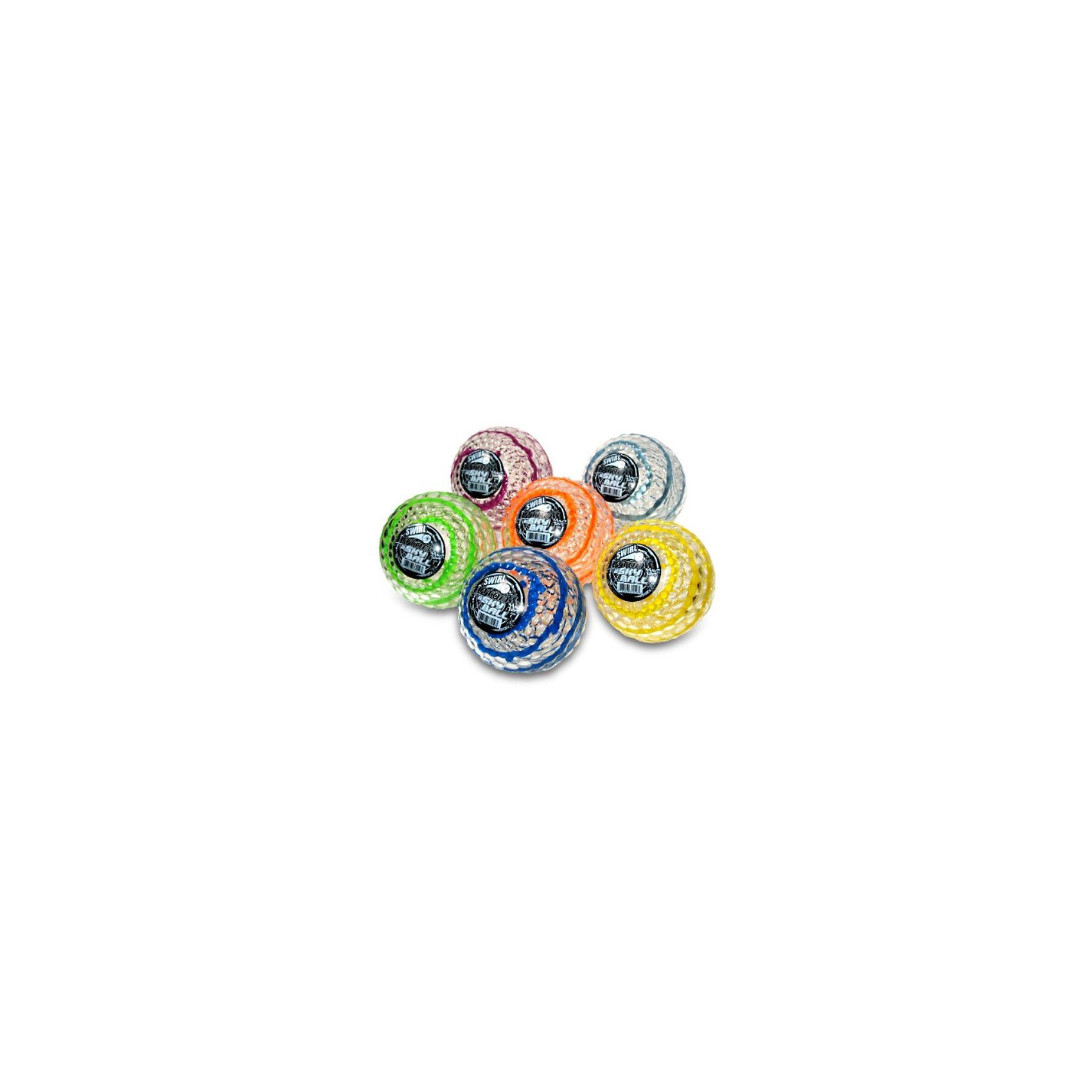 Мячик Swirl Atom,10см, SkyballРазвлекательный рельефный мяч для детей Skyball Graffiti Atom  диаметром 10 см, станет хорошим подарком для  активных детей.  Мяч имеет специальное внутреннее наполнение – гелий, благодаря которому, мячик может подпрыгнуть на высоту до 22 метров. <br><br>Мяч выполнен из высококачественных и прочных материалов, Мяч имеет прозрачную рельефную поверхность с яркими разноцветными линиями, не токсичный, противоаллергенный и безопасный для здоровья Вашего ребенка.<br><br>Дополнительная информация:<br><br>- Диаметр: 10 см<br><br>ВНИМАНИЕ: Данный артикул представлен в разных цветовых вариантах. К сожалению, заранее выбрать определенный вариант невозможно. При заказе нескольких мячей возможно получение одинаковых.<br><br>Рельефный мяч Atom Skyball 10 cm, в ассортименте можно купить в нашем магазине.<br><br>Ширина мм: 100<br>Глубина мм: 100<br>Высота мм: 100<br>Вес г: 20<br>Возраст от месяцев: 72<br>Возраст до месяцев: 168<br>Пол: Унисекс<br>Возраст: Детский<br>SKU: 3219503