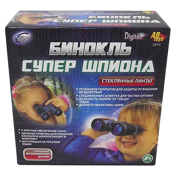 Eastcolight Бинокль со стеклянными линзами, 4х30Наборы шпиона<br>Замечательный, качественный бинокль со стеклянными линзами.<br>С ним Ваш ребенок сможет рассмотреть все детали и ничего не скроется из вида!<br><br>Дополнительная информация:<br><br>- В комплект входит бинокль.<br>- Кратность увеличения: 4 х 30<br>- Стеклянные линзы.<br><br>Ширина мм: 120<br>Глубина мм: 50<br>Высота мм: 119<br>Вес г: 180<br>Возраст от месяцев: 72<br>Возраст до месяцев: 1188<br>Пол: Унисекс<br>Возраст: Детский<br>SKU: 3220272