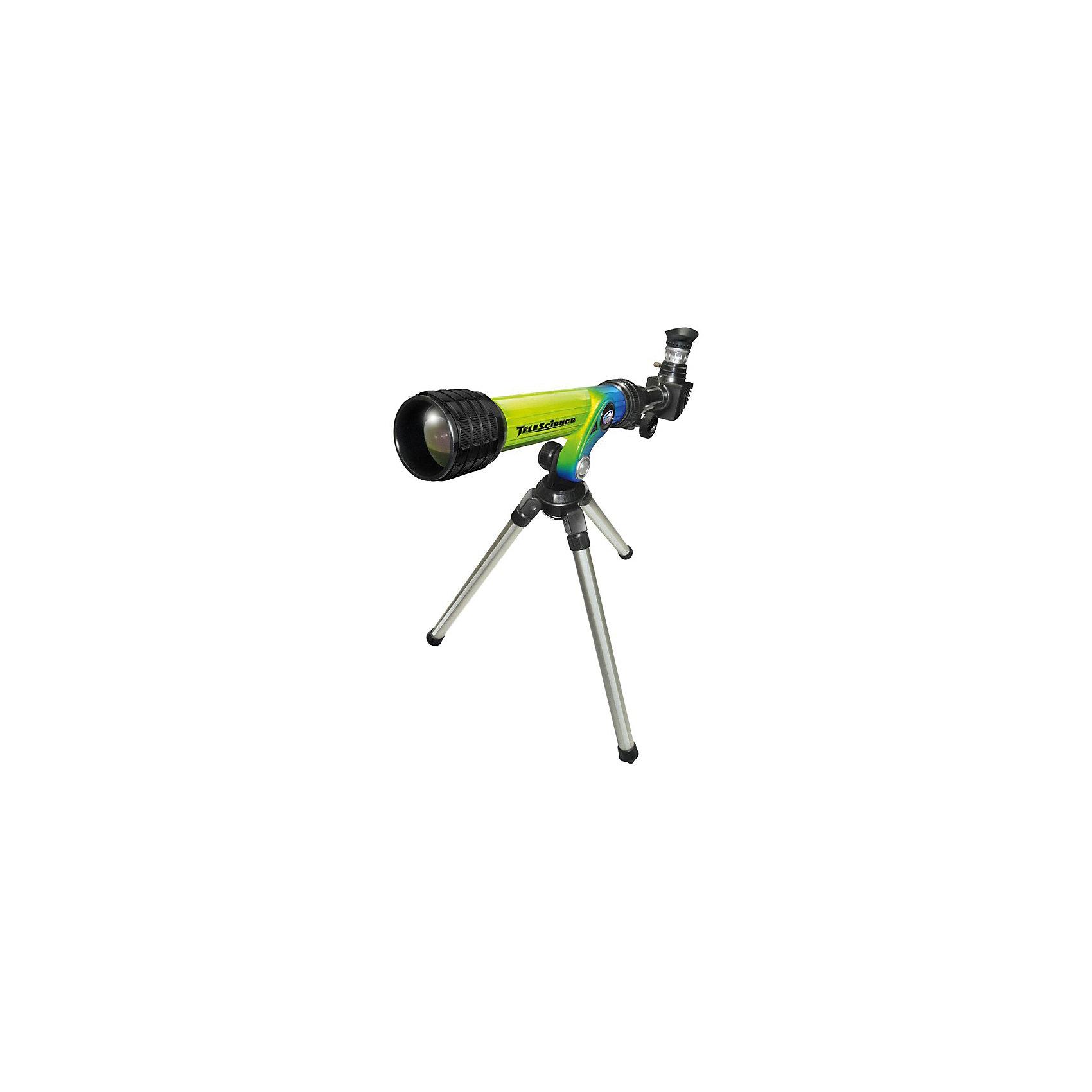 Eastcolight Телескоп HD на штативе, c аксессуарами (диагональное зеркало)Телескопы<br>Функциональный детский телескоп, который позволит детям наблюдать за планетами Солнечной системы и звёздами! Телескоп поставляется вместе со штативом, диаметр объектива 30 мм, фокусное расстояние 400 мм, диаметр окуляров 20 и 4 мм соответственно.<br><br>Дополнительная информация:<br><br>- В комплект входит: телескоп, штатив.<br>- Материал: пластик, металл.<br><br>Ширина мм: 483<br>Глубина мм: 114<br>Высота мм: 229<br>Вес г: 970<br>Возраст от месяцев: 72<br>Возраст до месяцев: 1188<br>Пол: Унисекс<br>Возраст: Детский<br>SKU: 3220274