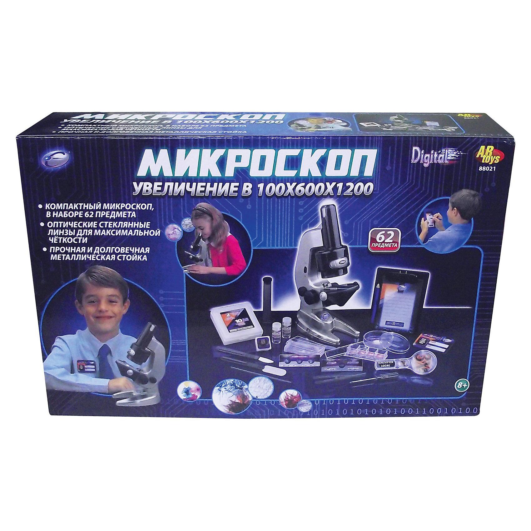 - Eastcolight Набор микроскоп электромеханический, с аксессуарами, 62 пр. eastcolight micro science mp 450 blue микроскоп