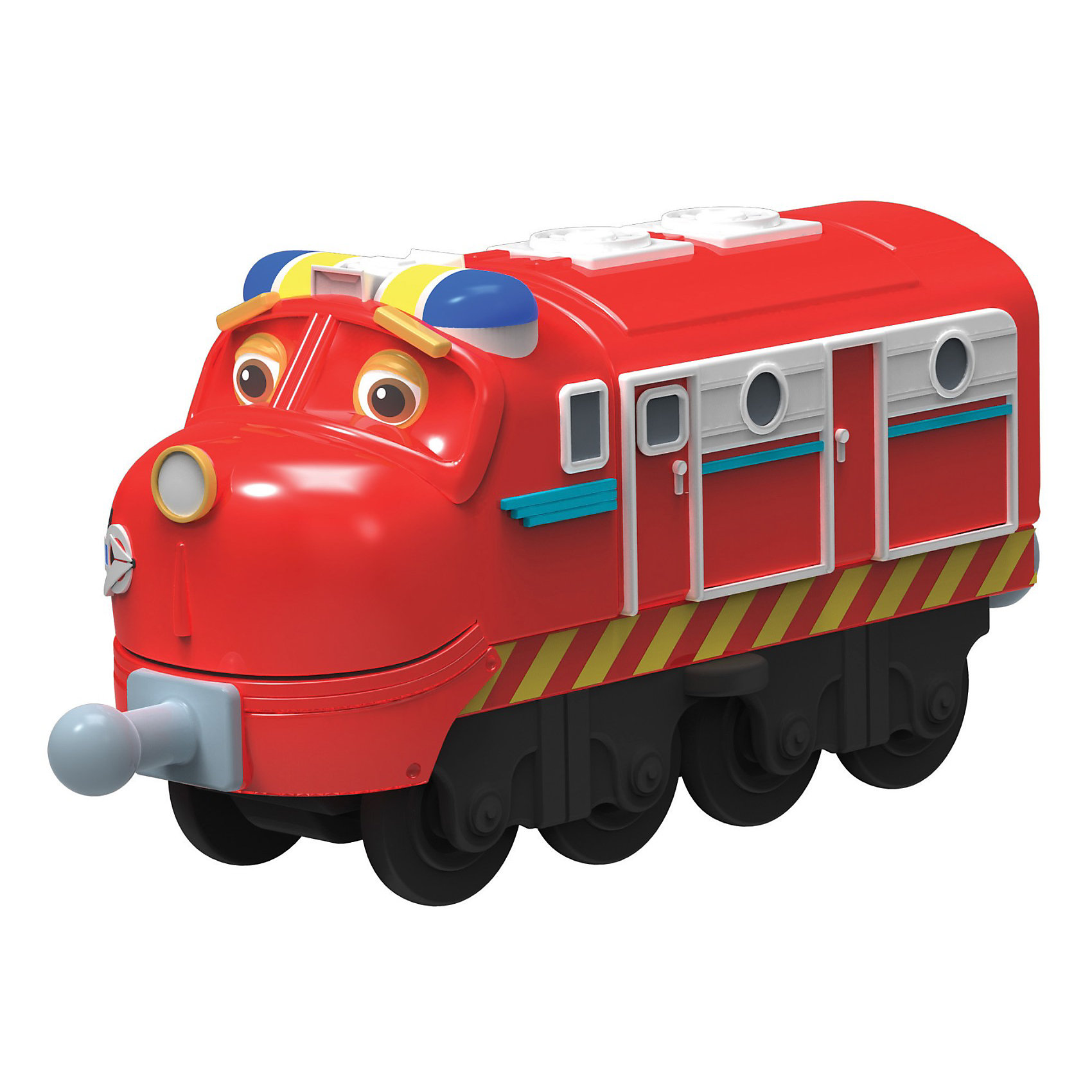 Паровозик Уилсон-патруль, ЧаггингтонИгрушечная железная дорога<br>Паровозик серии Die-Cast Уилсон-патруль Chuggington (Чаггингтон) - это яркая и веселая игрушка, созданная по мотивам мультсериала «Веселые паровозики из Чаггингтона». <br>Уилсон мечтает стать супергероем, а пока он занимается патрулированием городка Чаггингтон. Улсона-патруля видно издалека благодаря яркой раскраске и мигалкам на крыше. <br>Паровозик Уилсон–патруль Chuggington можно присоединить к другим паровозикам серии Die-Cast, оразовав длинный железнодорожный состав. <br>У паровозика литой корпус и ручное управление. <br><br>Дополнительная информация:<br><br>- Размеры паровозика: 7 х 4,5 см<br>- Колея: 2 см<br>- Размер упаковки: 14 х 38 х 16 см<br>- Материал: металл, пластик<br><br>Паровозик Уилсон-патруль, Чаггингтон можно купить в нашем магазине.<br><br>Ширина мм: 171<br>Глубина мм: 139<br>Высота мм: 30<br>Вес г: 91<br>Возраст от месяцев: 36<br>Возраст до месяцев: 60<br>Пол: Мужской<br>Возраст: Детский<br>SKU: 3232701