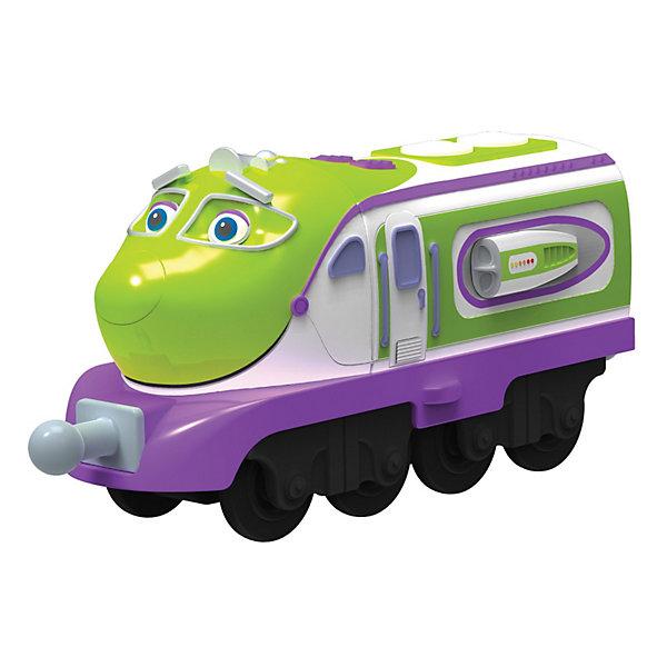 Паровозик Чаггинсоник Коко, ЧаггингтонЧаггингтон<br>Паровозик Чаггинсоник Коко, Чаггингтон – яркий паровозик, созданный по мотивам мультсериала «Веселые паровозики из Чаггингтона».<br><br>Чаггинсоник Коко – самый быстрый паровозик-стажер из известного мультфильма. К тому же один из самых красивых. А как же иначе? Ведь Коко – это девочка! К паровозику можно прикрепить другие вагончики. Паровозик Коко выполнен из качественных и безопасных материалов, без острых углов, а значит безопасен для самых маленьких любителей паровозиков. У Коко ручное управление, инерционный ход. <br><br>Дополнительная информация:<br><br>- Размер упаковки: 17х4х14 см <br>- Размер паровозика: 8х3х5 см <br>- Вес: 100г<br><br>Паровозик Чаггинсоник Коко, Chuggington порадует Вашего ребенка, поможет развитию мелкой моторики, мышления и воображения. <br><br>Паровозик Чаггинсоник Коко, Чаггингтон можно купить в нашем магазине.<br>Ширина мм: 172; Глубина мм: 139; Высота мм: 32; Вес г: 91; Возраст от месяцев: 36; Возраст до месяцев: 60; Пол: Мужской; Возраст: Детский; SKU: 3232702;
