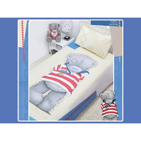 Постельное белье детское Тедди Моряк, 1,5-спальный, Me To YouMe to You<br>Постельное белье Teddy (Sea) компании Мона-Лиза выполнено из прочной, экологичной ткани (100% хлопок) с использованием современных красителей. На комплекте постельного белья изображён мишка Тедди-морячок в полосатой футболке. Взрослым порой трудно понять, что особенного в таком белье, но стоит только взглянуть, с какими восторженными глазами малыш побежит спать, как все вопросы отпадут сами собой.<br><br>Дополнительная информация:<br><br>- Размер: полутораспальный.<br>- Состав: хлопок 100%.<br>- В комплекте: 1 наволочка, 1 пододеяльник и 1 простыня.<br>- наволочка: 50*70 см<br>- простыня: 150*215 см<br>- пододеяльник: 145*210 см<br>- Основной цвет: нежно-голубой.<br><br>Комплект постельного белья Teddy (Sea)  полутораспальный торговой марки Мона Лиза (Mona Liza) можно приобрести в нашем интернет-магазине.<br><br>Ширина мм: 310<br>Глубина мм: 250<br>Высота мм: 70<br>Вес г: 1000<br>Возраст от месяцев: 36<br>Возраст до месяцев: 144<br>Пол: Мужской<br>Возраст: Детский<br>SKU: 3236513