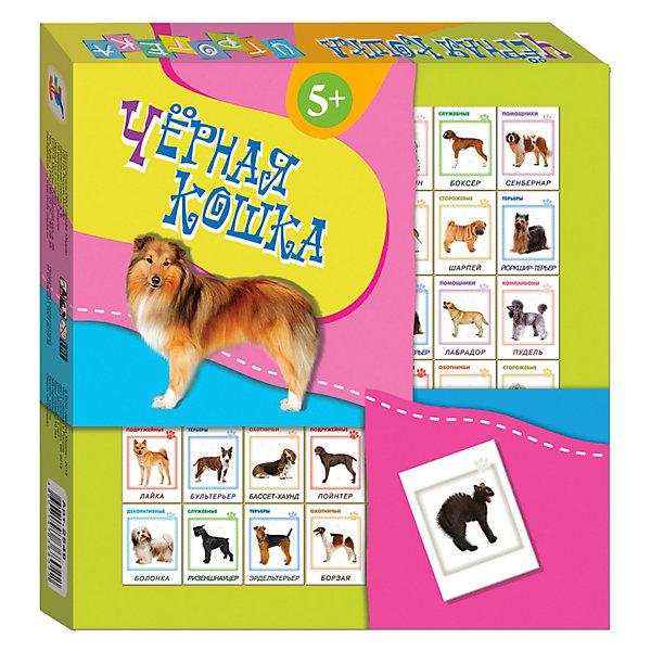 Игротека Черная кошка, Дрофа-МедиаДомино<br>Игротека Черная кошка, Дрофа-Медиа (Drofa-media).<br><br>Это игра для любителей четвероногих друзей, которая знакомит ребенка с различными породами собак — охотничьими и служебными, пастушьими и сторожевыми, комнатно-декоративными и группой терьеров.<br><br>Будьте осторожны - берегитесь черной кошки!<br><br>Дополнительная информация:<br><br>- В комплекте: 42 игровые карточки<br>- Материал: плотный картон.<br>- Размер упаковки: 190 х 200 х 30  мм<br>- Вес: 180 г.<br><br>Игротеку Черная кошка, Дрофа-Медиа (Drofa-media) можно купить в интернет-магазине.<br>Ширина мм: 190; Глубина мм: 200; Высота мм: 30; Вес г: 180; Возраст от месяцев: 60; Возраст до месяцев: 84; Пол: Унисекс; Возраст: Детский; SKU: 3244899;