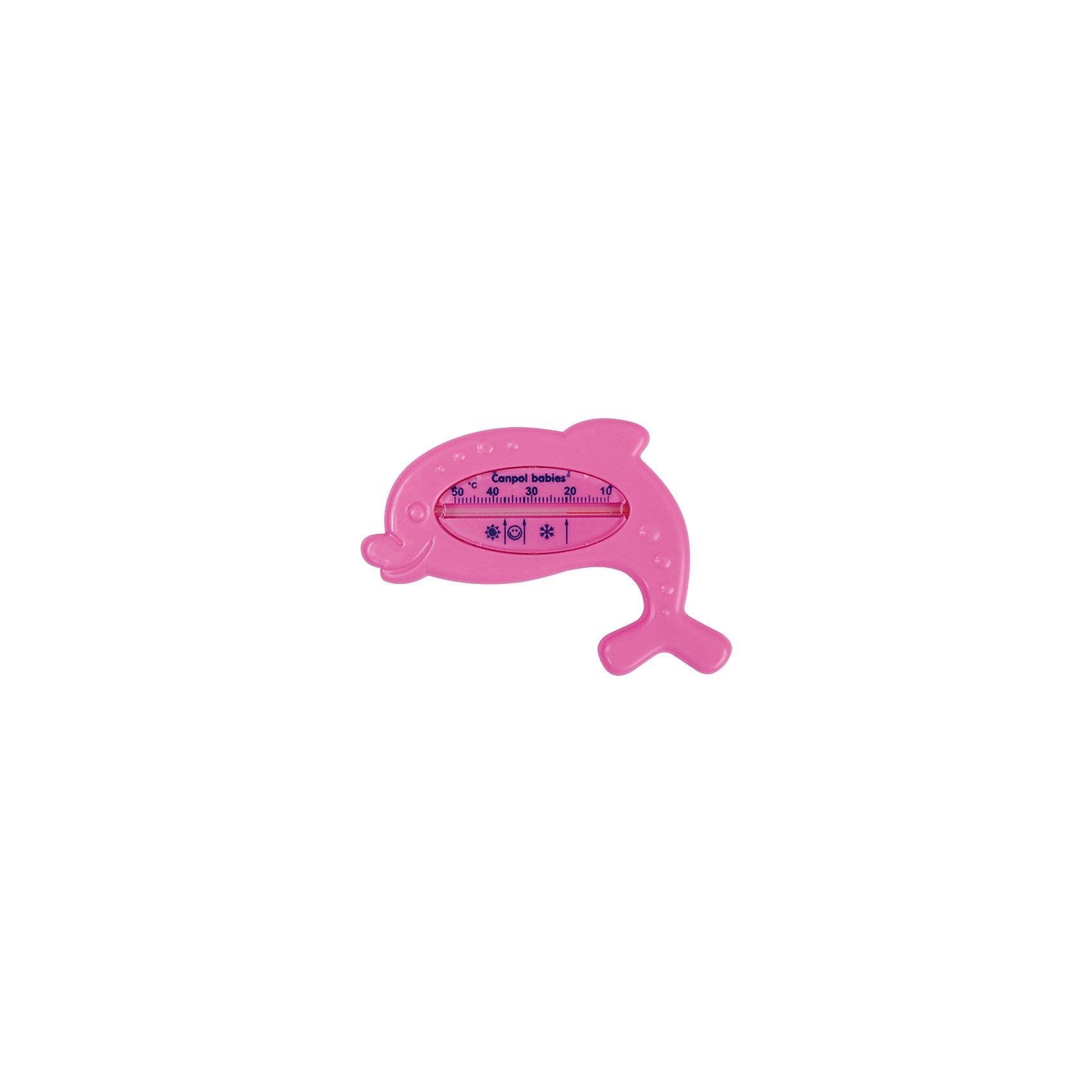 Термометр для воды Дельфин, Canpol Babies, в ассортименте