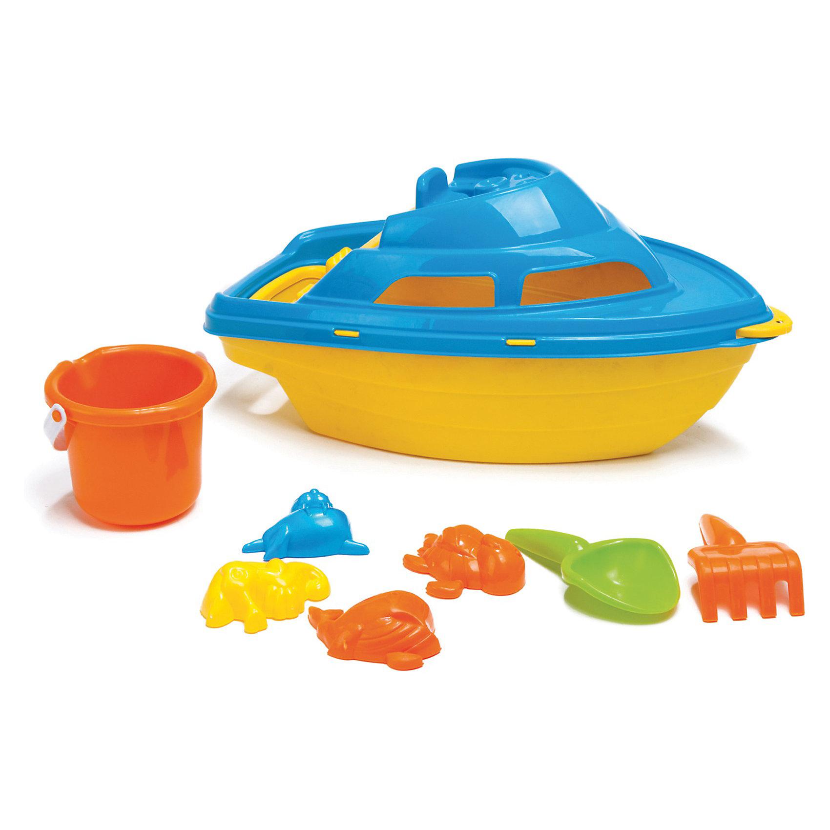 DOLU Яхта с песочным наборомИграем в песочнице<br>Собираясь на пляжный отдых не забудьте взять песочный набор Яхта. Ребенку будет некогда скучать: он будет строить куличики и запускать свою яхту в открытое плаванье. При изготовлении игрушки использовались только качественные и нетоксичные материалы.<br><br>Ширина мм: 430<br>Глубина мм: 210<br>Высота мм: 190<br>Вес г: 500<br>Возраст от месяцев: 36<br>Возраст до месяцев: 60<br>Пол: Унисекс<br>Возраст: Детский<br>SKU: 3261107