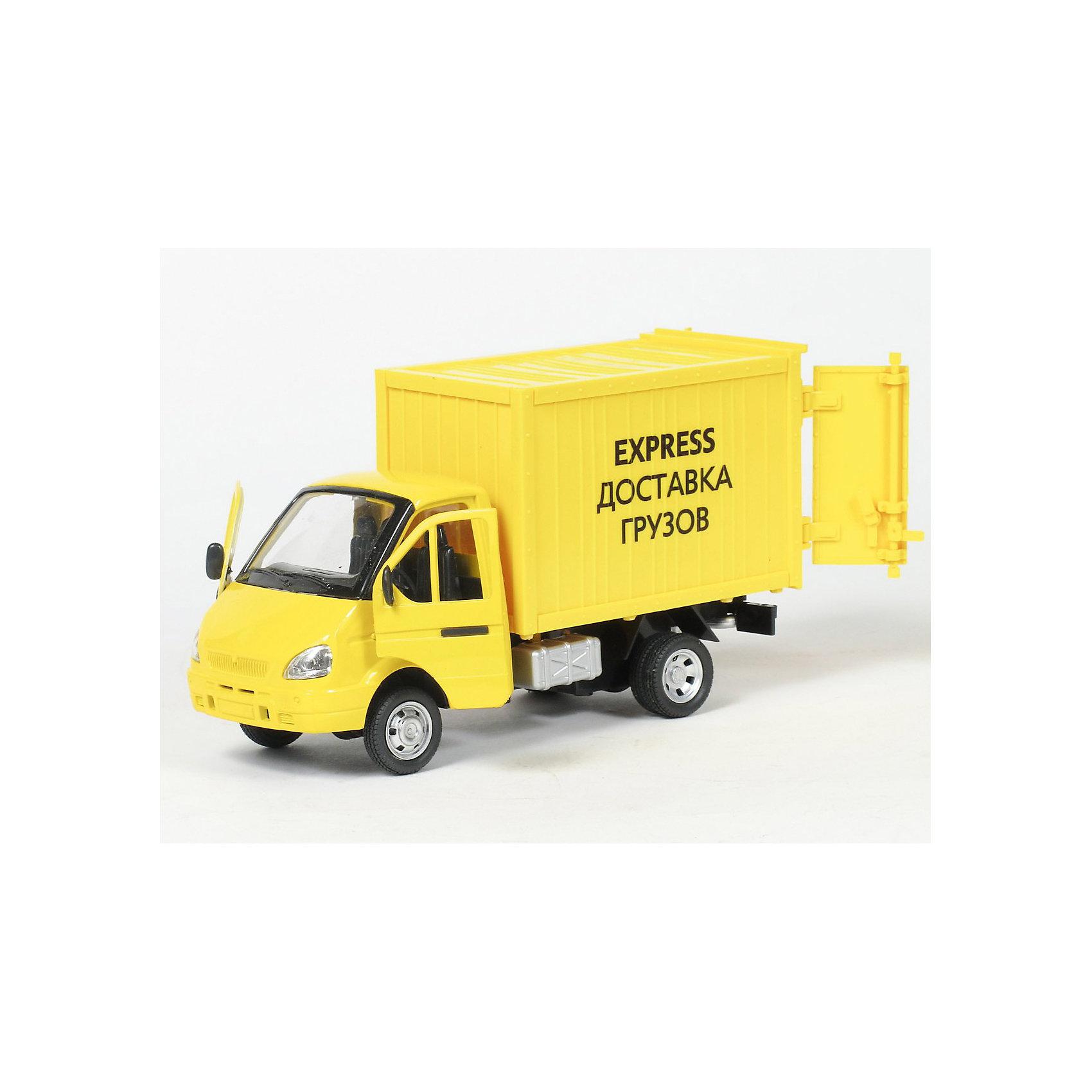 ТЕХНОПАРК Машина Газель-фургон Доставка грузовМашинки<br>Интересная инерционная игрушка - реалистичная копия грузовой машины- газели.  Со световыми и звуковыми эффектами, с открывающимися (подвижными) элементами - эта игрушка наверняка понравится юному любителю автотранспорта и займет достойное место в домашней коллекции.<br><br>ТЕХНОПАРК - российский бренд, под которым разрабатываются и выпускаются качественные современные игрушки для мальчиков.  Прежде всего, это копии моделей реальных технических средств: автомобилей, самолетов и вертолетов, военной и гражданской техники. Довольно часто - это игрушки с звуковыми и световыми эффектами и разнообразными подвижнымиэлементами. Тщательная проработка каждой детали этих игрушек позволяет говорить о них также как о ценных моделях, которые могут занять достойное место на полках коллекционеров. Инерционный механизм, открываются двери фургона и  передние двери, съёмный тент. Свет и звук.По лицензии ОАО ГАЗ<br><br>Ширина мм: 110<br>Глубина мм: 240<br>Высота мм: 140<br>Вес г: 480<br>Возраст от месяцев: 18<br>Возраст до месяцев: 1188<br>Пол: Мужской<br>Возраст: Детский<br>SKU: 3261695