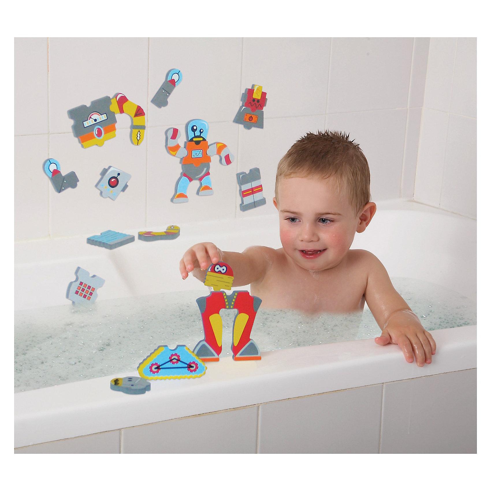 Edushape Edushape Набор для игры в ванне «Роботы» 21 часть игровой набор для игры в ванне лови рыбу crd 26x5x29см арт zyb b1068