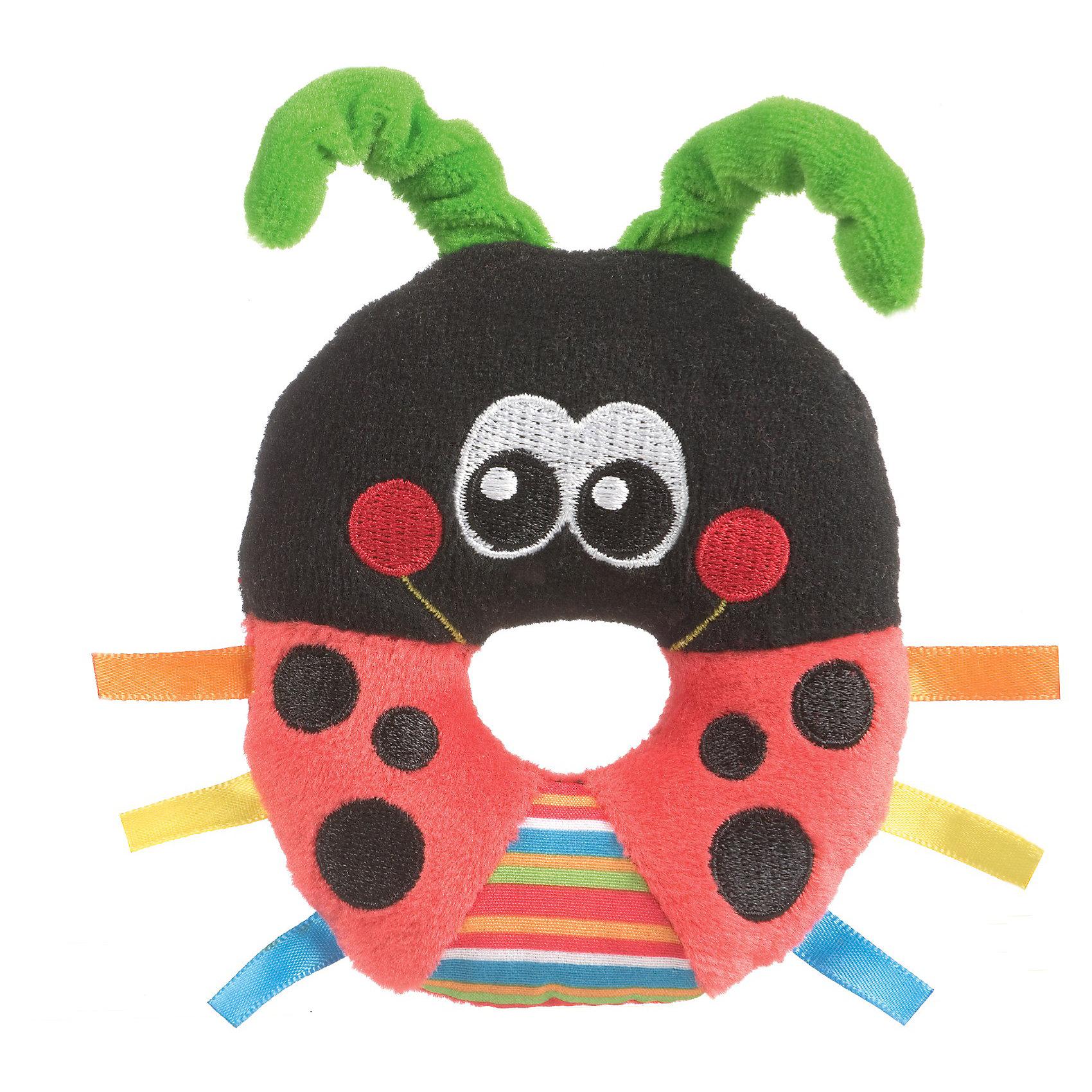 Playgro Игрушка-погремушка Божья коровка Playgro погремушки playgro игрушка погремушка забавные шарики