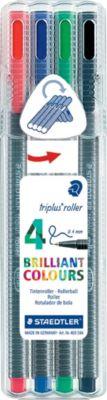 Staedtler Роллер Triplus , 0.4 мм, 4 цв.