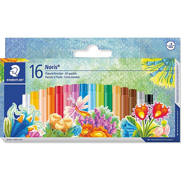 Пастель масляная NorisClub, диаметр 8мм, 16 цветов, StaedtlerПастель Уголь<br>Staedtler Пастель масляная NorisClub, диаметр 8мм, 16цветов.<br>Картонная коробка. Для рисования, перекрытия цвета и техники процарапывания.<br>Высокая устойчивость к поломке. Для гладких поверхностей.<br>Ширина мм: 167; Глубина мм: 100; Высота мм: 17; Вес г: 117; Возраст от месяцев: 72; Возраст до месяцев: 1164; Пол: Унисекс; Возраст: Детский; SKU: 3274543;