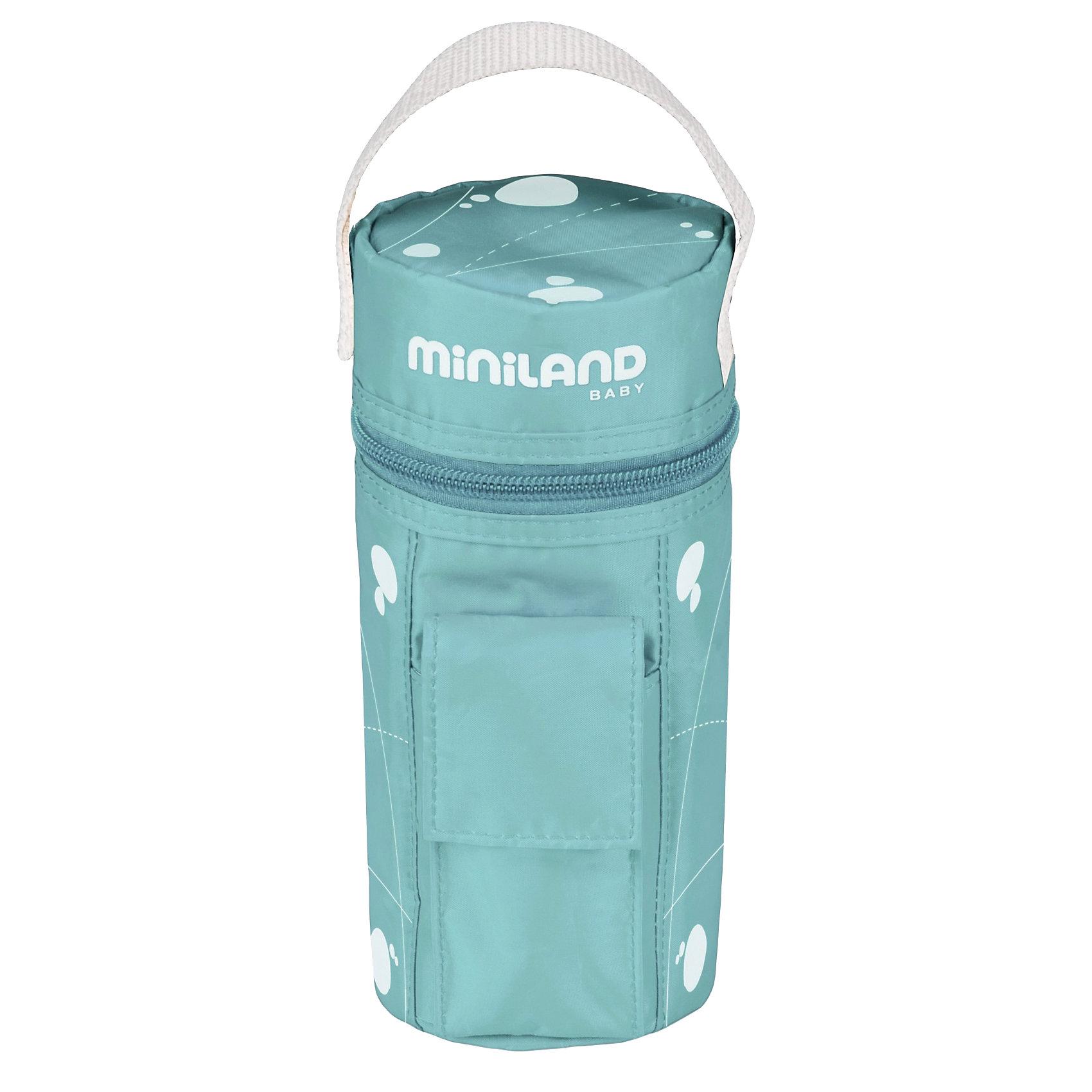 Компактный нагреватель бутылочек в дорогу WARMY TRAVEL , MinilandДетская бытовая техника<br>Компактный нагреватель бутылочек Warmy Travel пригодится в длительной поездке с малышом. С его помощью вы сможете легко и быстро подогреть баночку или бутылочку с детским питанием. Нагреватель подключается с помощью прикуривателя и удобно крепится с помощью липучек. Кроме того, он поддерживает температуру, что очень удобно для детей, которые любят есть маленькими порциями. <br>Особенности:<br>-быстро нагревает питание<br>-функция поддержания температуры после подогрева<br>-система защиты от перегревания<br>-есть ручка и липучки, застегивается на молнию<br>Цвет: зеленый<br>Размеры: 11х11х24 см<br>Вы можете купить нагреватель бутылочек Warmy Travel вы нашем интернет-магазине.<br><br>Ширина мм: 243<br>Глубина мм: 109<br>Высота мм: 109<br>Вес г: 259<br>Цвет: бирюзовый<br>Возраст от месяцев: 0<br>Возраст до месяцев: 36<br>Пол: Унисекс<br>Возраст: Детский<br>SKU: 3288457